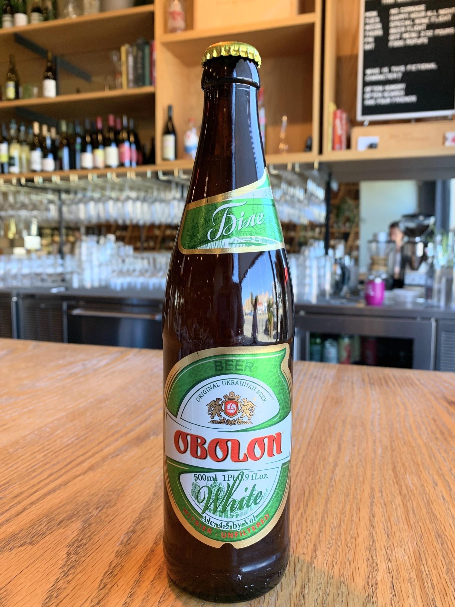 Obolon Brewery Obolon Brewery White Lager Unfiltered 500ml