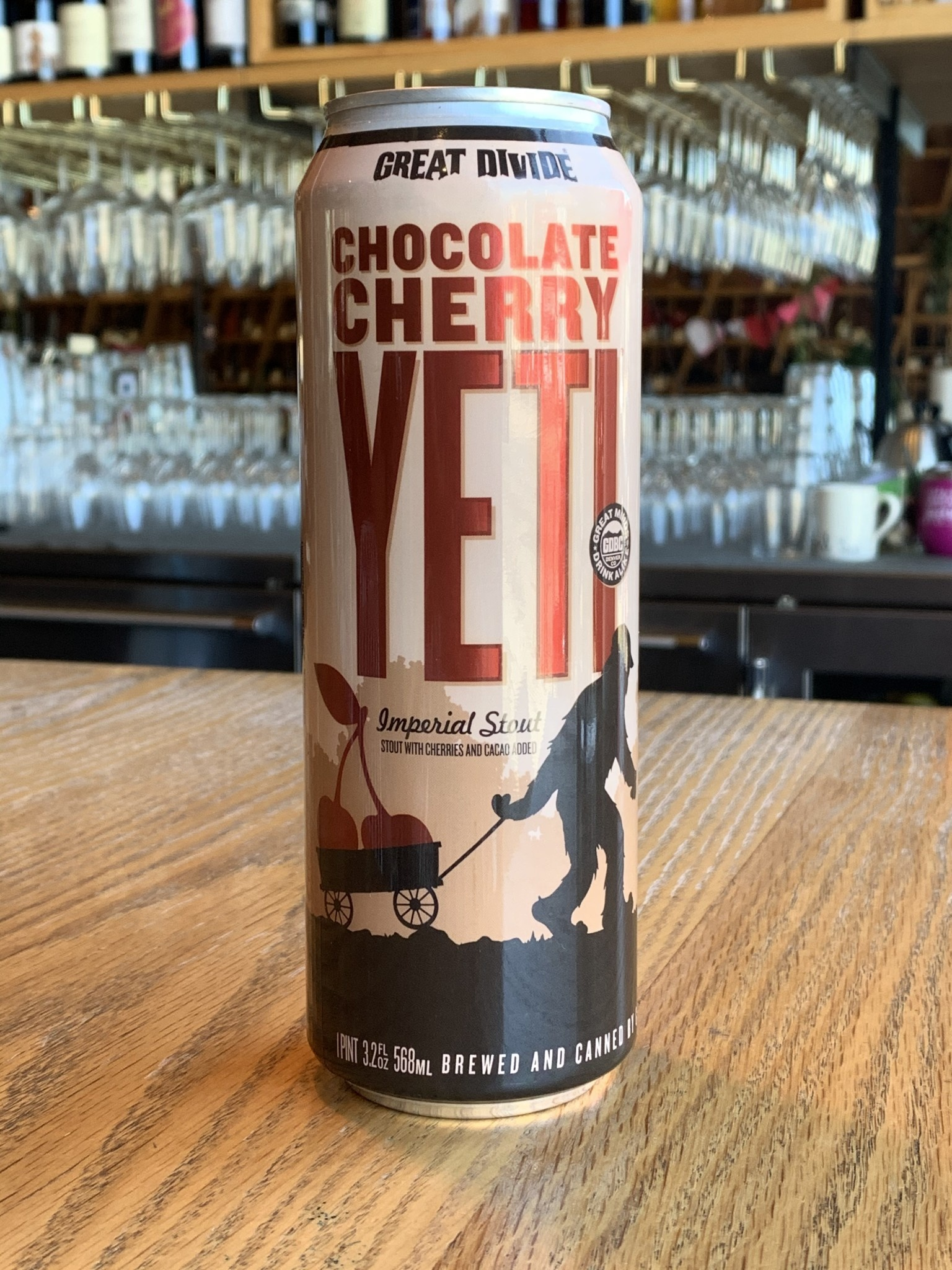 Great Divide Brewing Great Divide Chocolate Cherry Yeti Stout 19.2