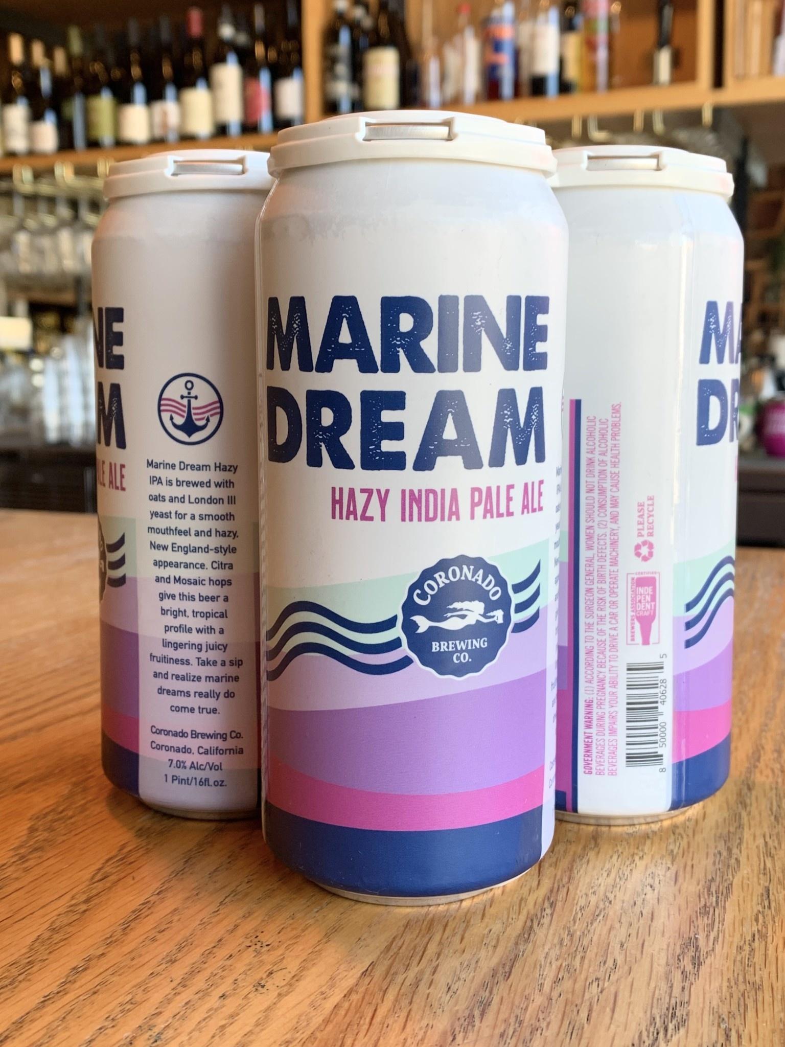 Coronado Brewing Coronado Brewing Marine Dream IPA 16oz 4pk