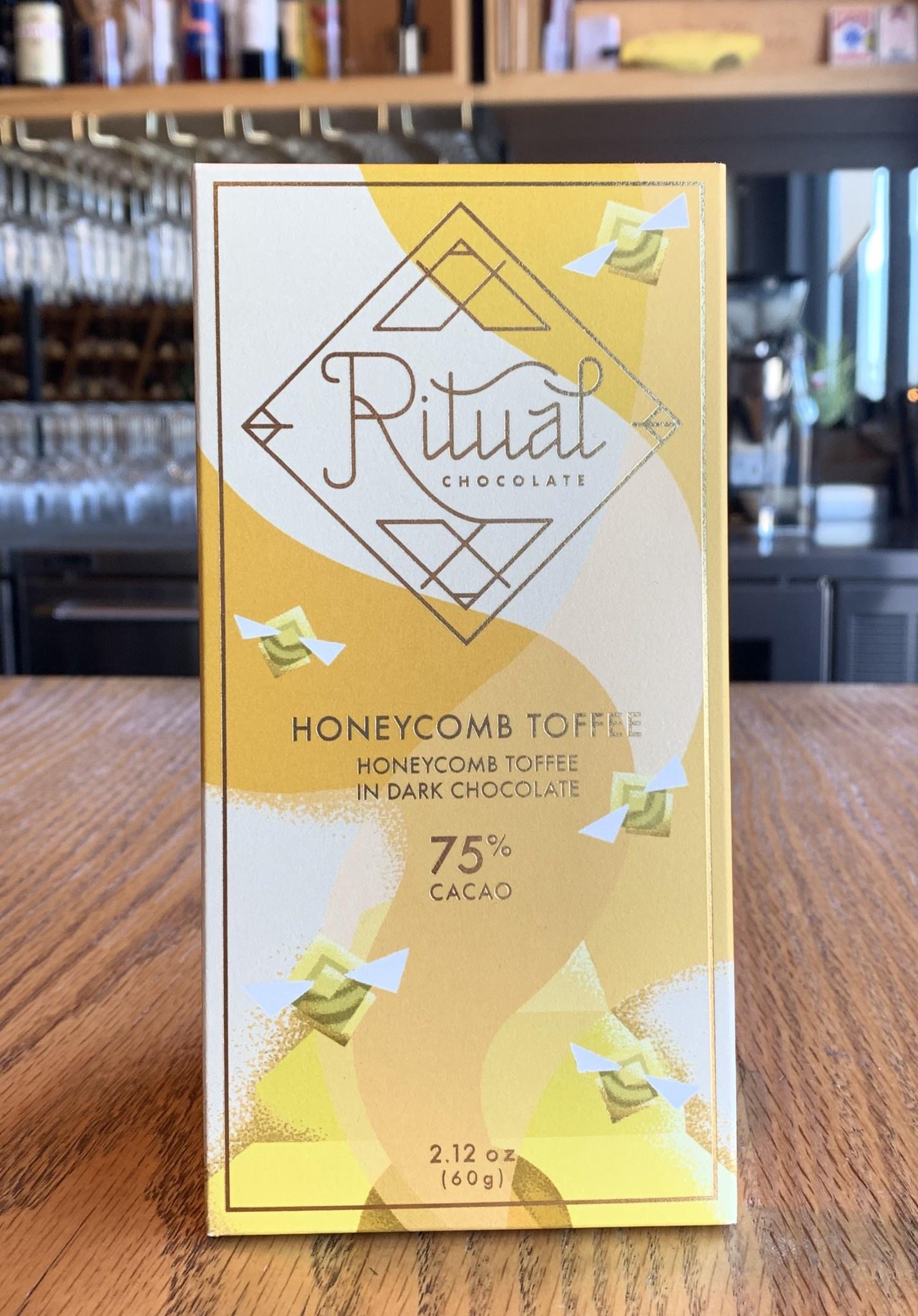 Ritual Chocolate Ritual Chocolate Honeycomb Toffee 75% 60g