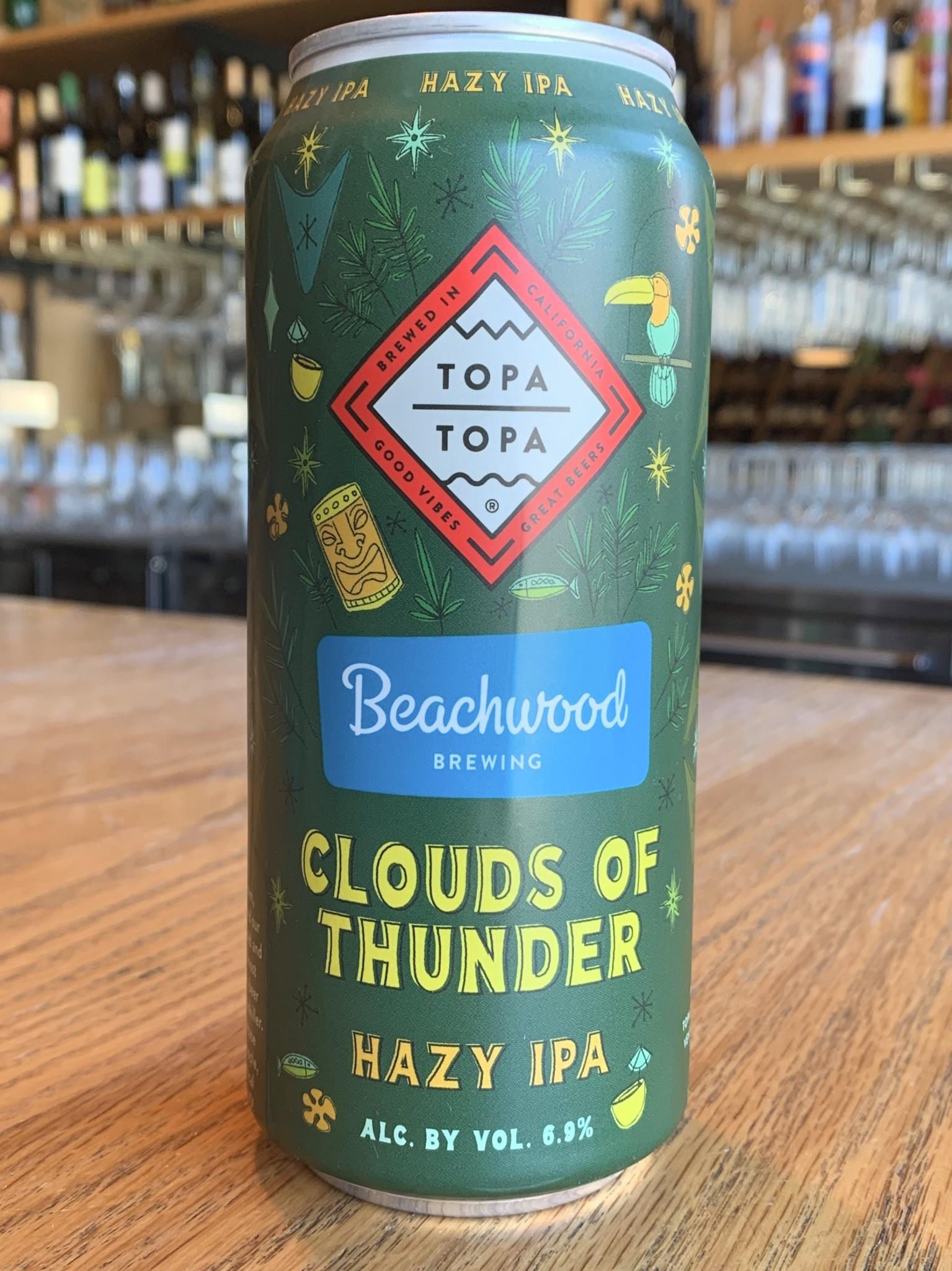 Topa Topa Brewing Co. Topa Topa Brewing Clouds of Thunder Hazy IPA 16oz