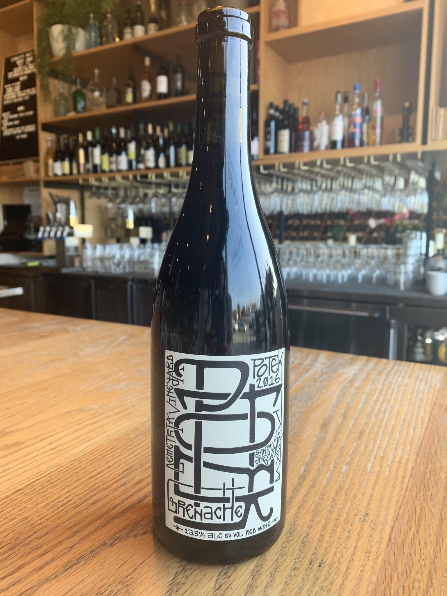 Potek Winery 2016 Potek Winery Demetria Grenache 750ml