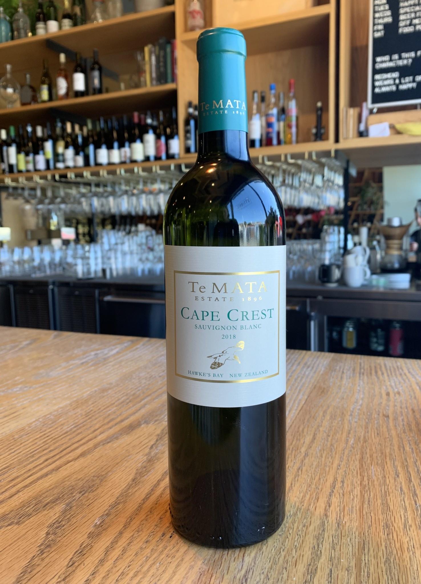 Te Mata 2018 Te Mata Cape Crest Sauvignon Blanc 750ml