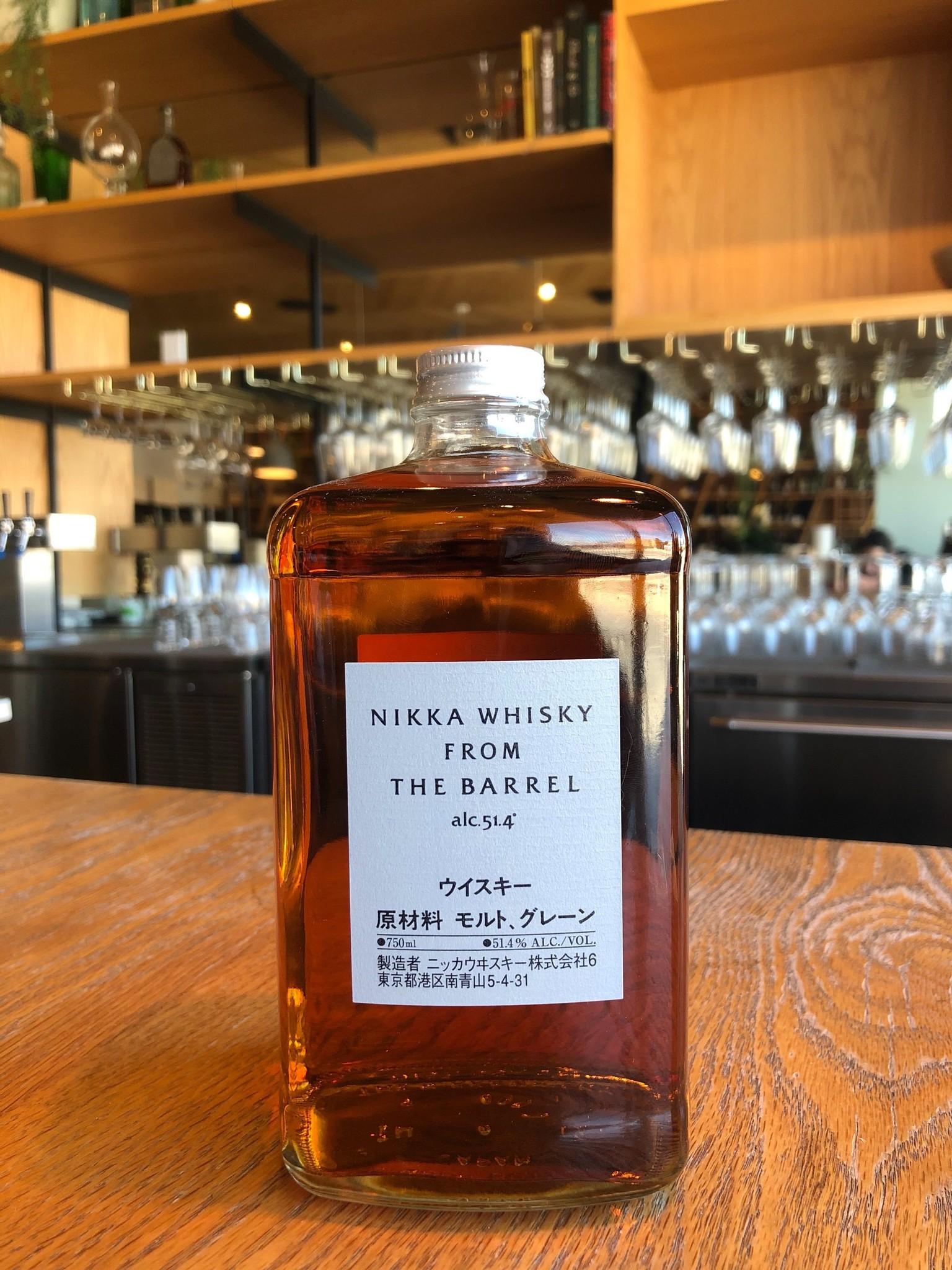 Nikka Whisky Distilling Nikka Whisky From the Barrel 750ml