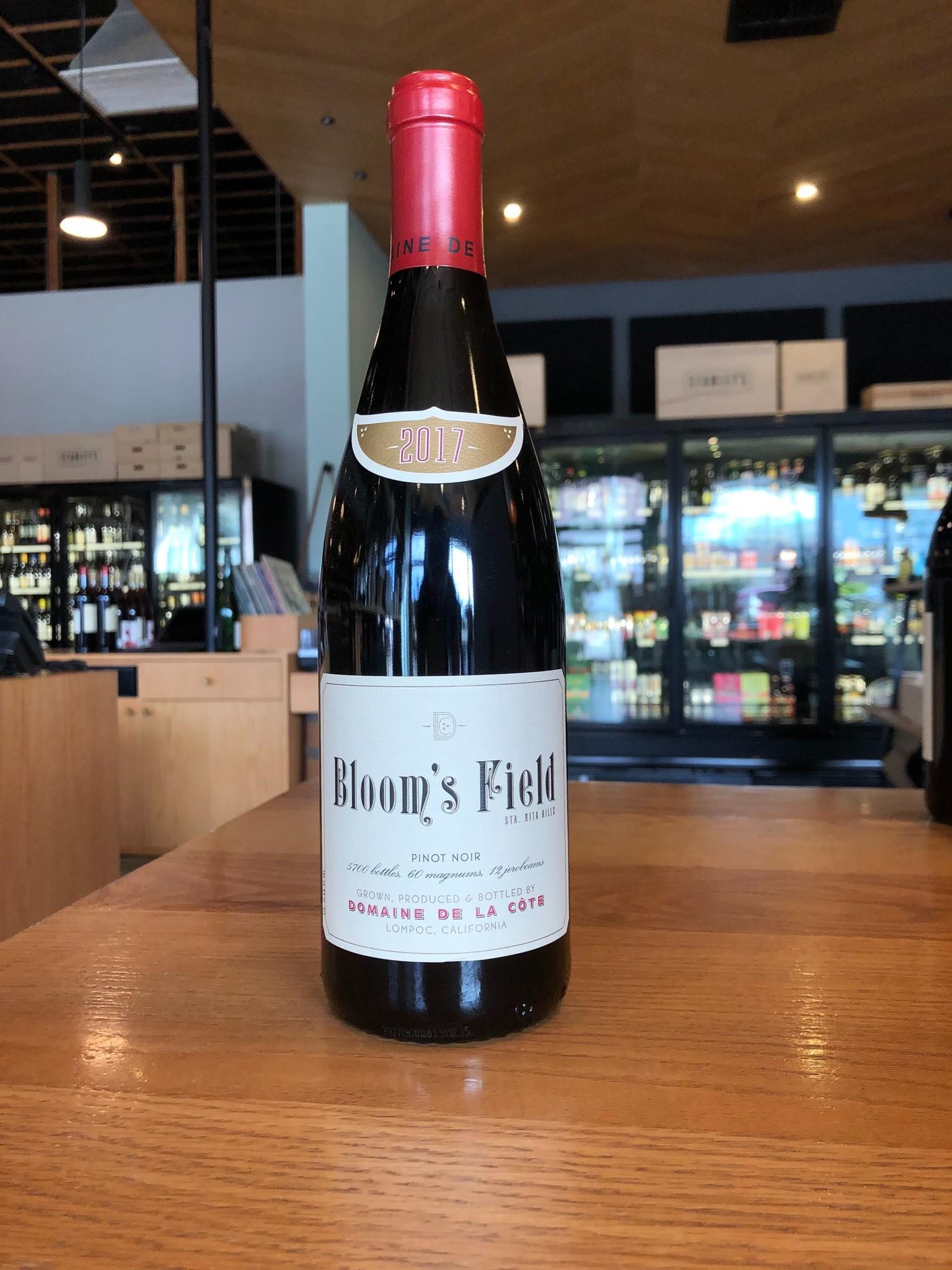 """Domaine de la Cote 2017 Domaine de la Côte """"Bloom's Field"""" Pinot Noir 750ml"""