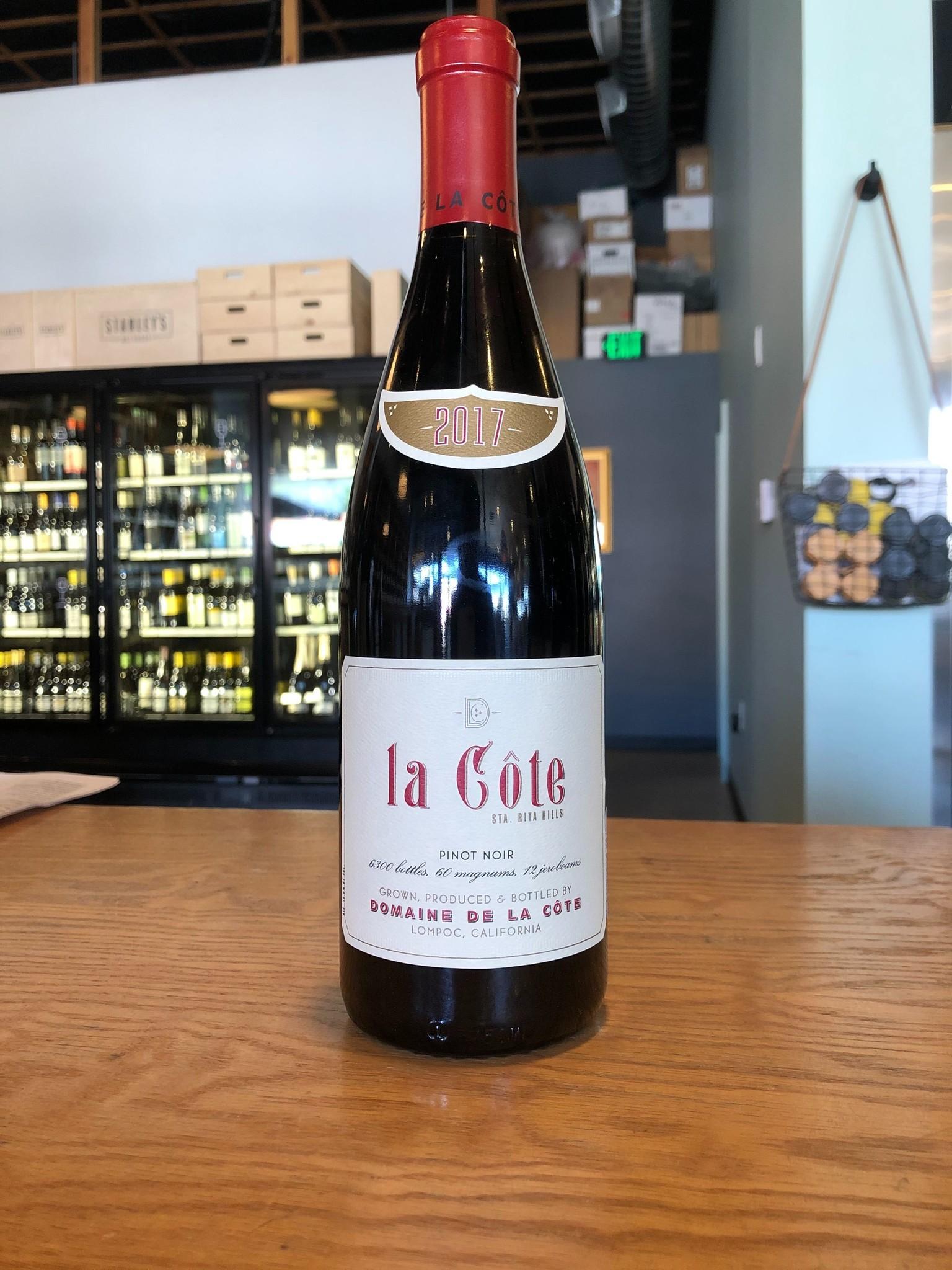 Domaine de la Cote 2017 Domaine de la Côte 'La Côte' Santa Rita Hills Pinot Noir 750ml