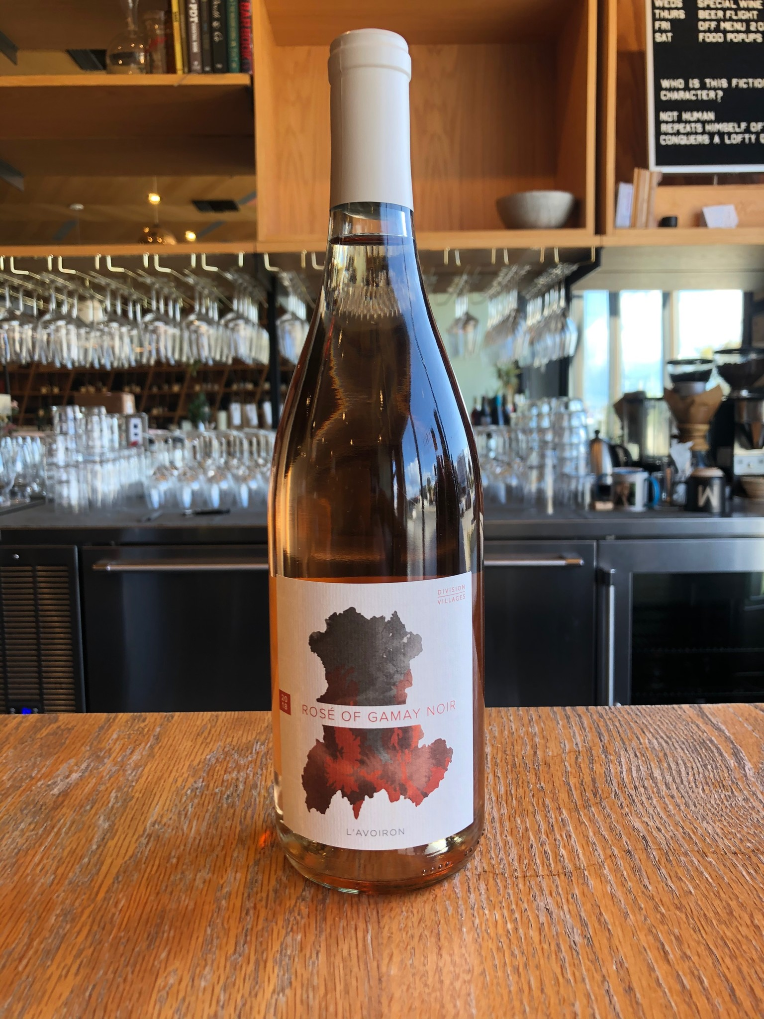 Division Winemaking Company 2018 Division Winemaking Co. 'Division-Villages Rosé Gamay Noir L'Avoiron' 750ml