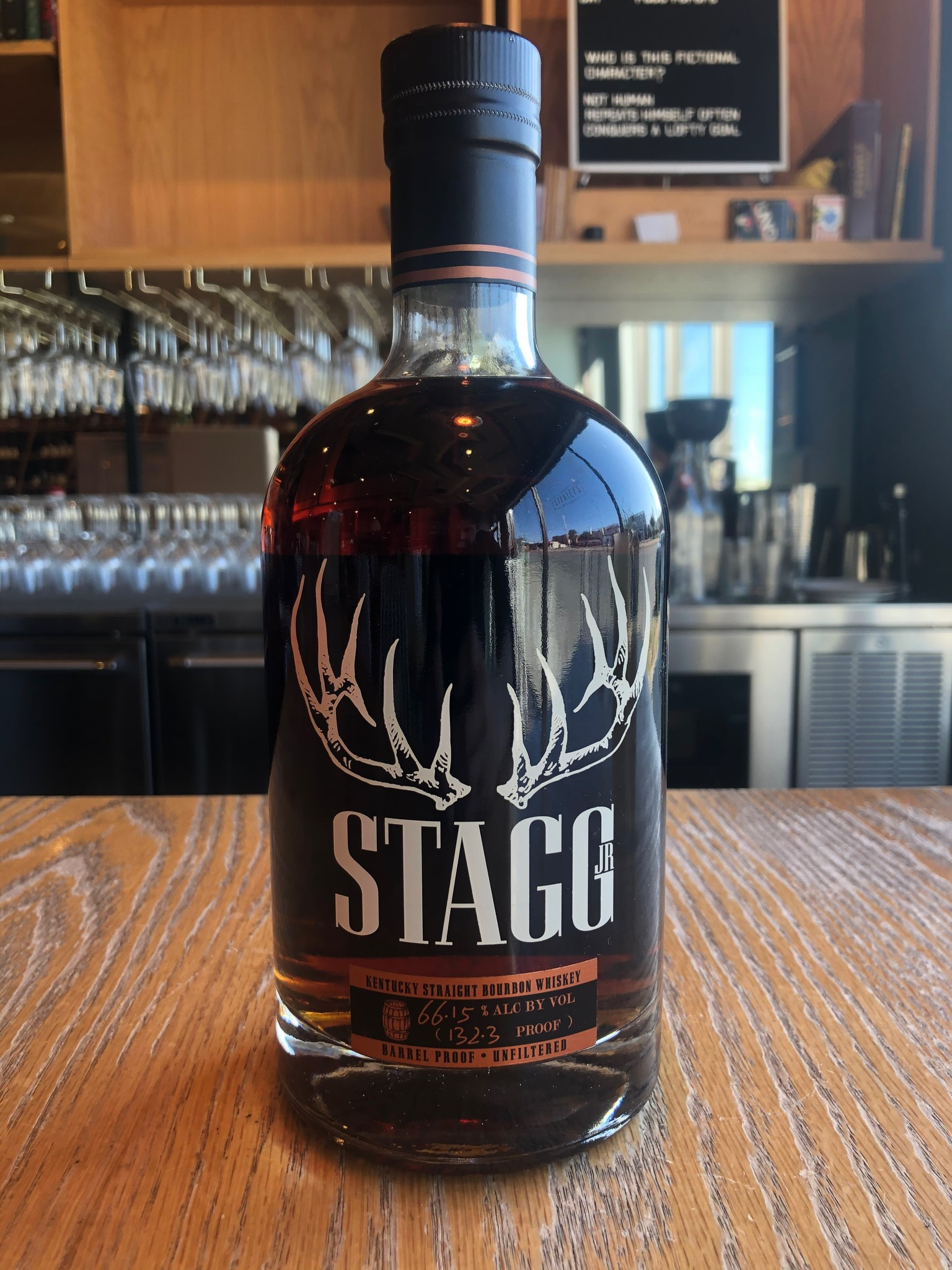 Buffalo Trace Distillery George T. Stagg Jr. Barrel Proof Boubon