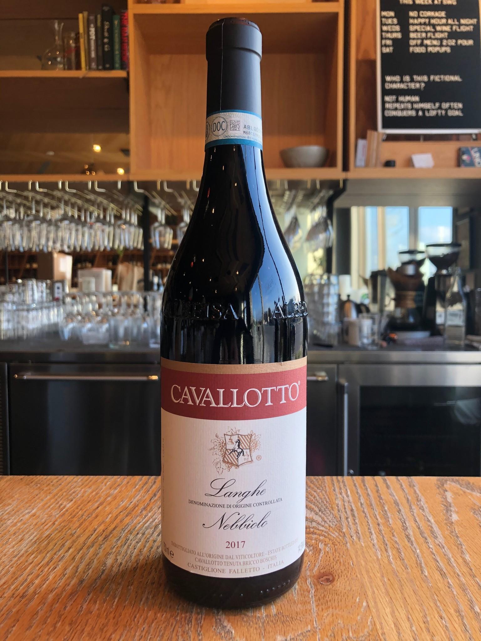 Cavallotto 2017 Cavallotto Langhe Nebbiolo 750ml