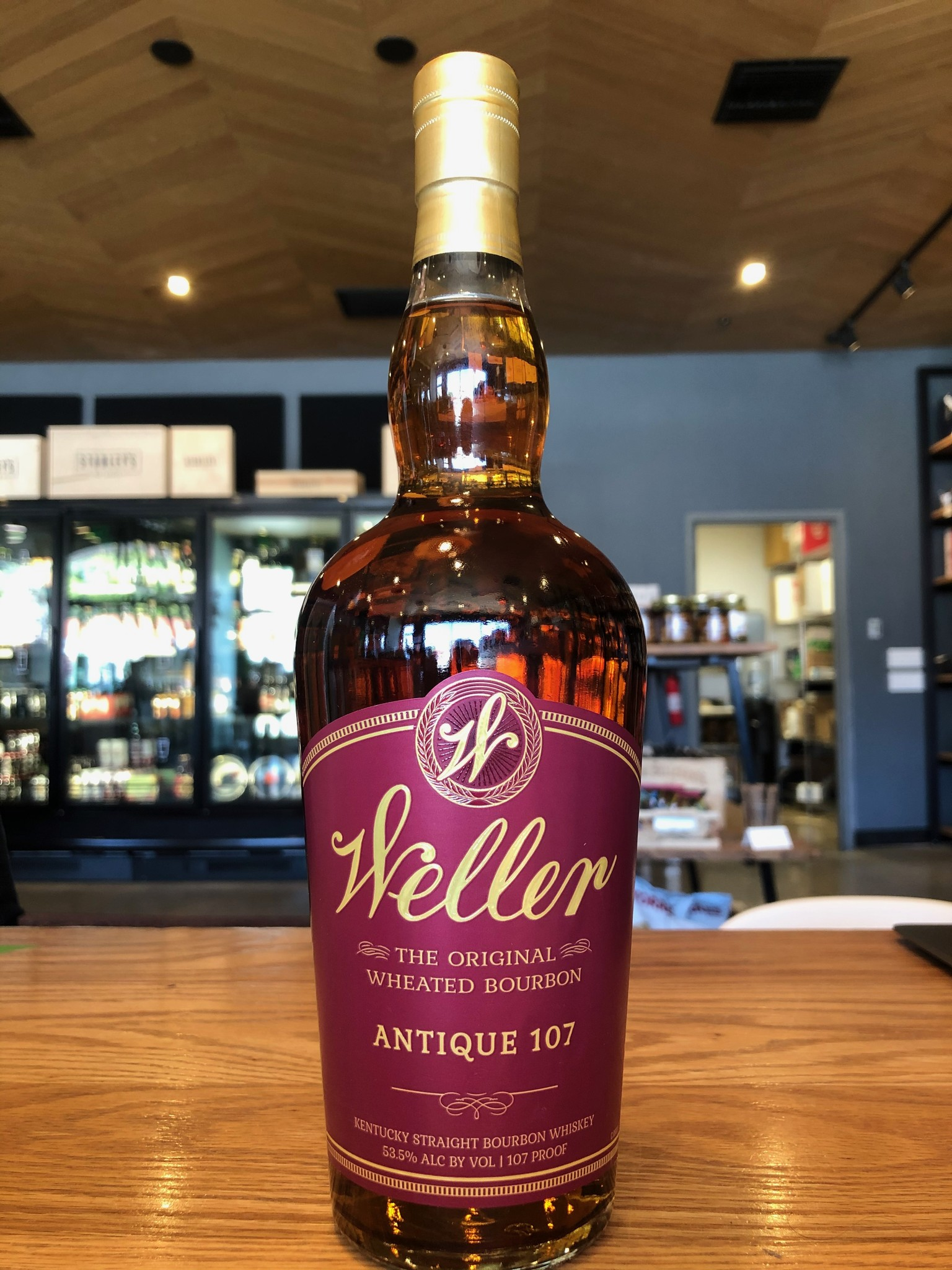 Buffalo Trace Distillery W.L. Weller Antique 107 Bourbon 750ml
