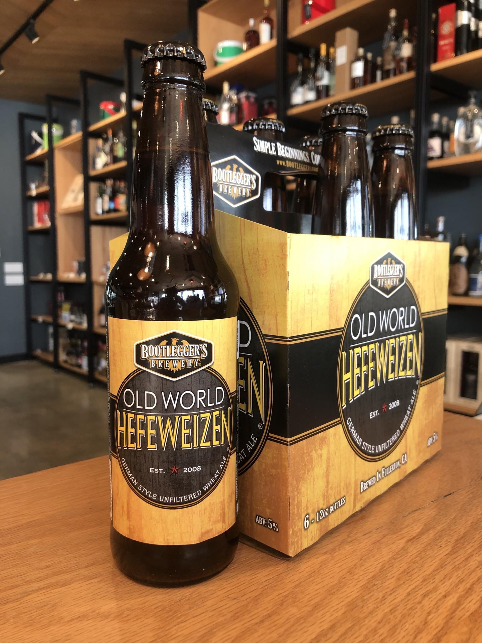 Bootlegger's Brewery Bootleggers Brewery Old World Hefeweizen 12oz 6pk