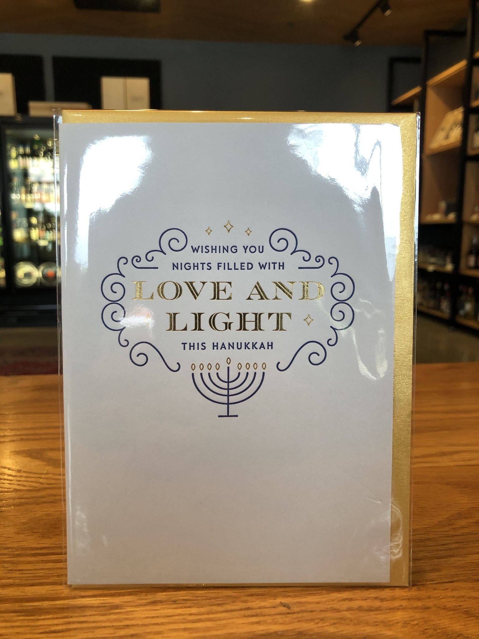 Elum Hanukkah Light Elum Greeting Card