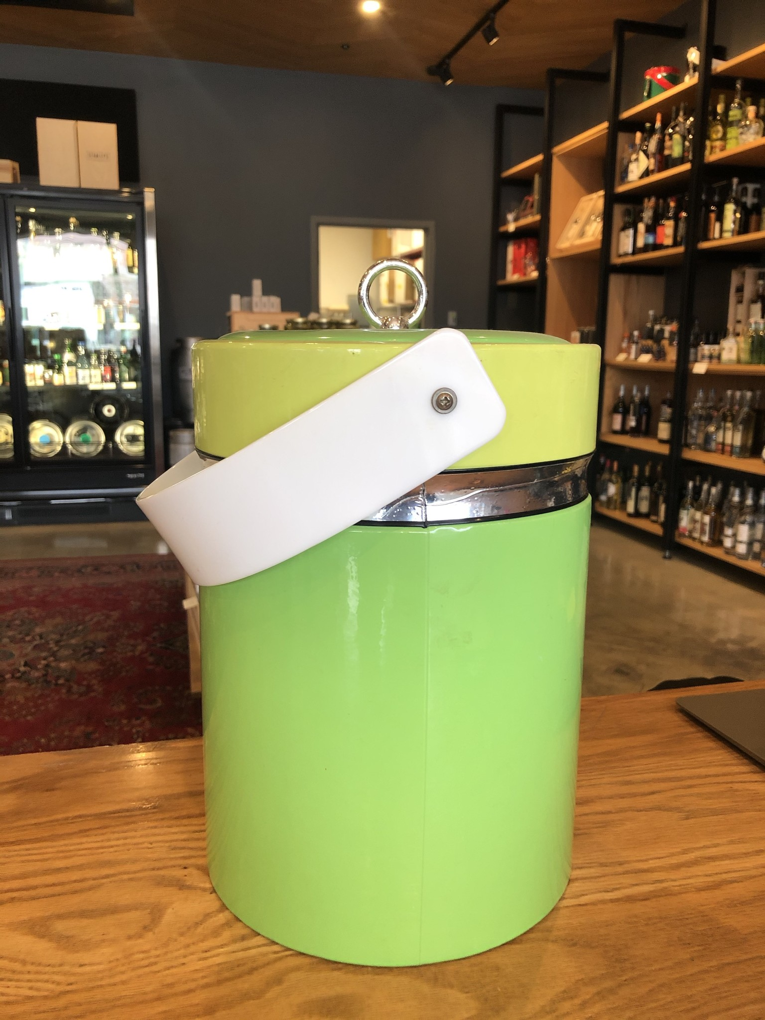 Georges Briard Georges Briard Two-tone Lime Ice Bucket
