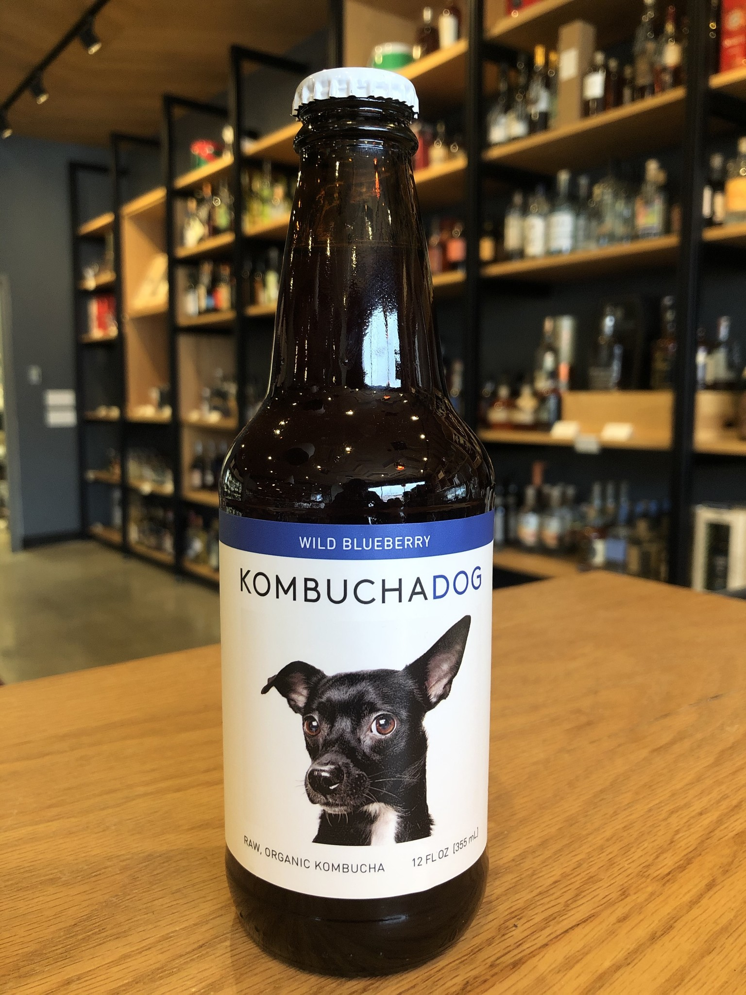 Kombucha Dog Kombucha Dog Blueberry Low ABV 12oz