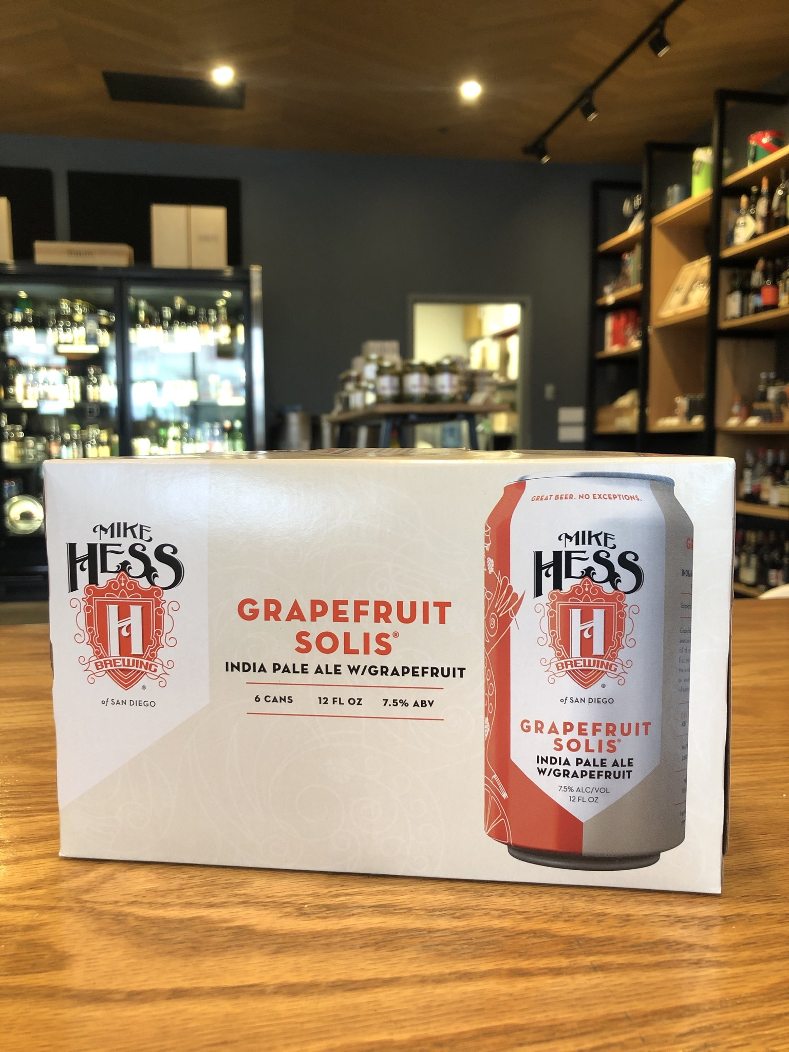 Mike Hess Brewing of San Diego Mike Hess Grapefruit Solis IPA 12oz 6pk