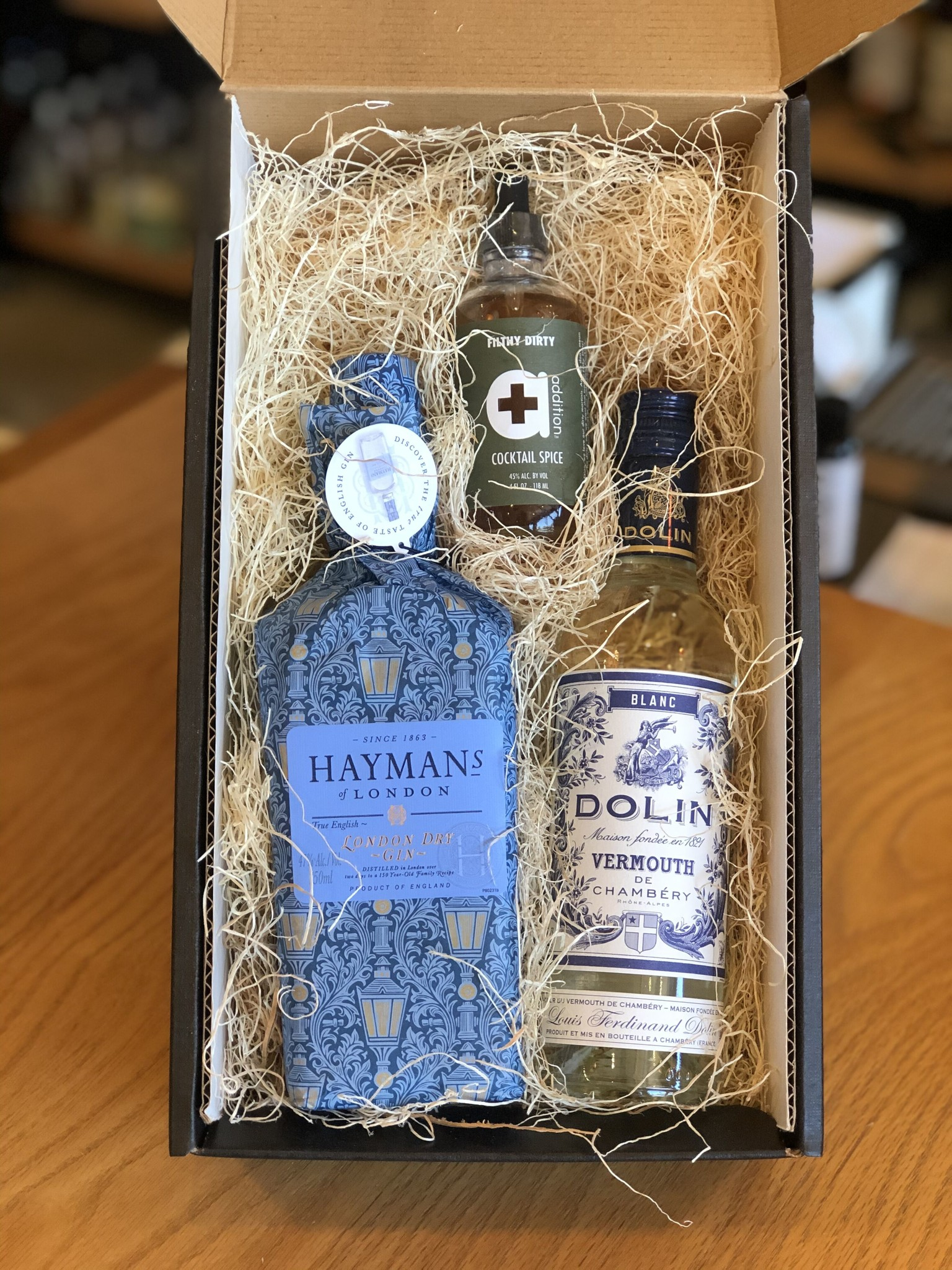 'Martinis with Mom' Gift Box