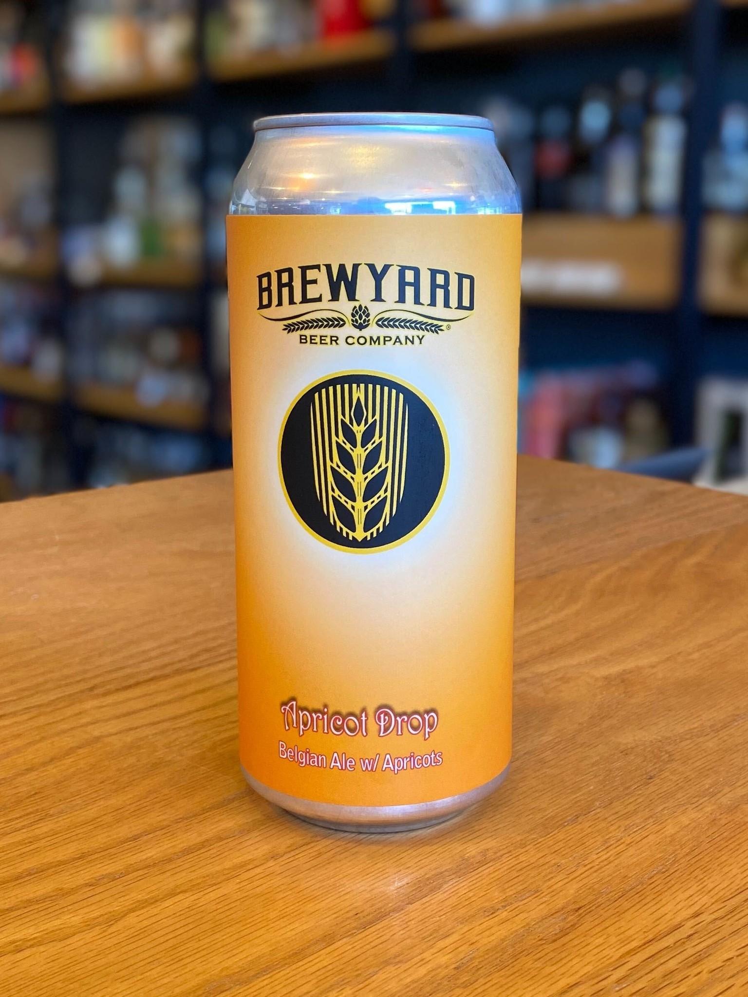 Brewyard Brewyard Brewing Apricot Drop 16oz
