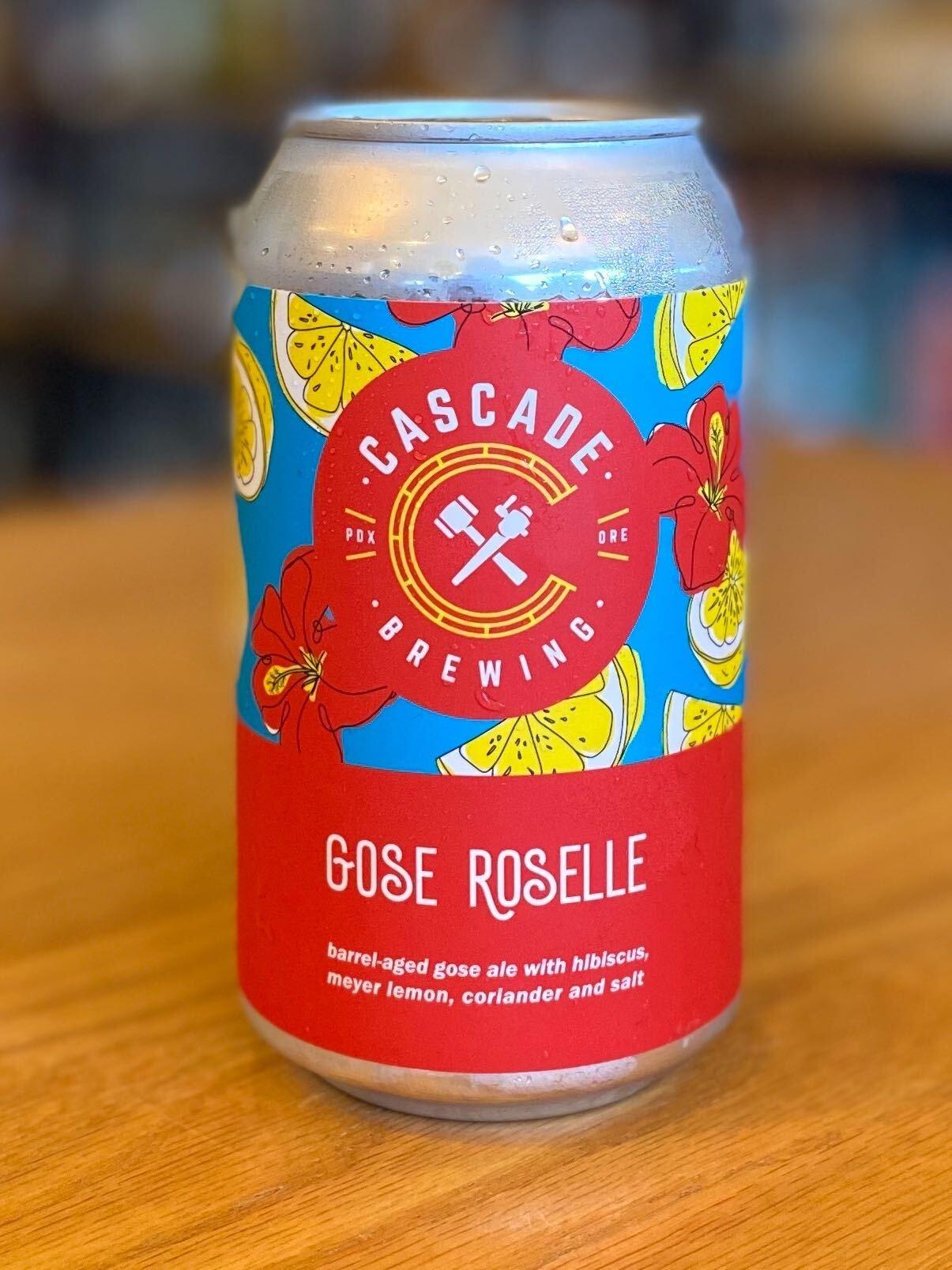 Cascade Brewing Cascade Brewing Gose Roselle 12oz