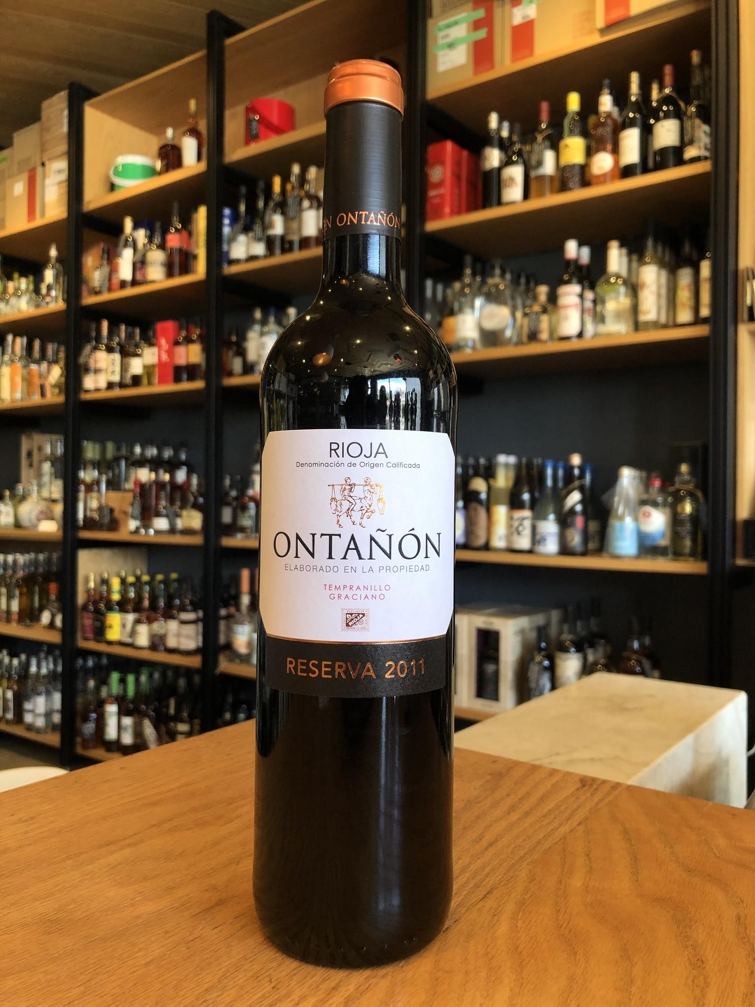 Ontañón 2011 Ontañón Rioja Reserva 750ml