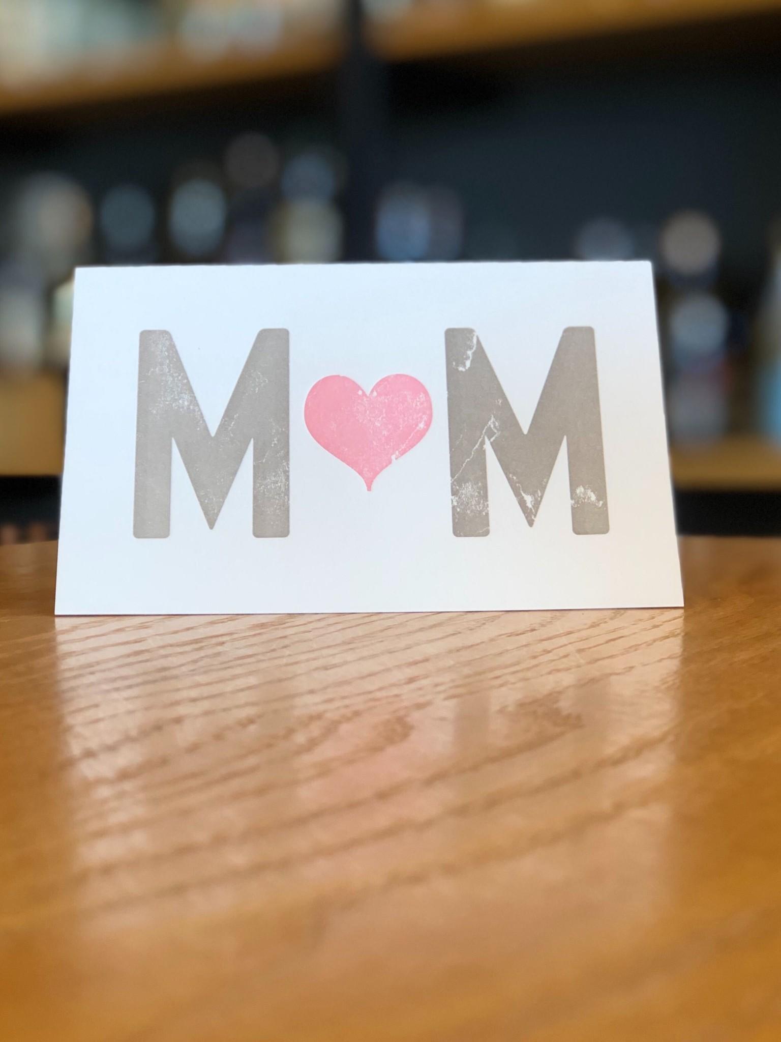Pike Street Press Mom Pink Heart Pike Street Press Greeting Card