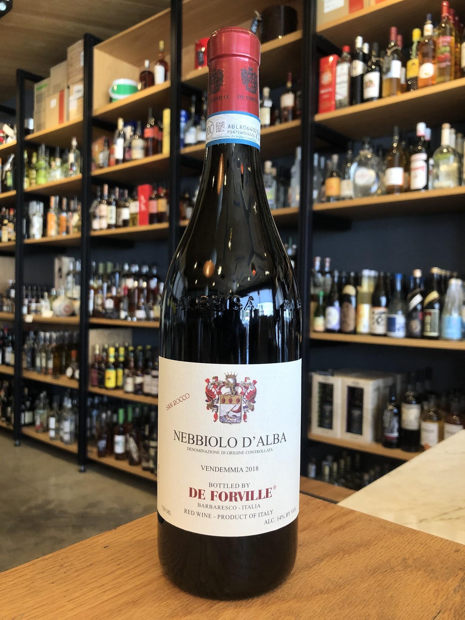 De Forville 2018 De Forville Nebbiolo D'Alba 'San Rocco' 750ml