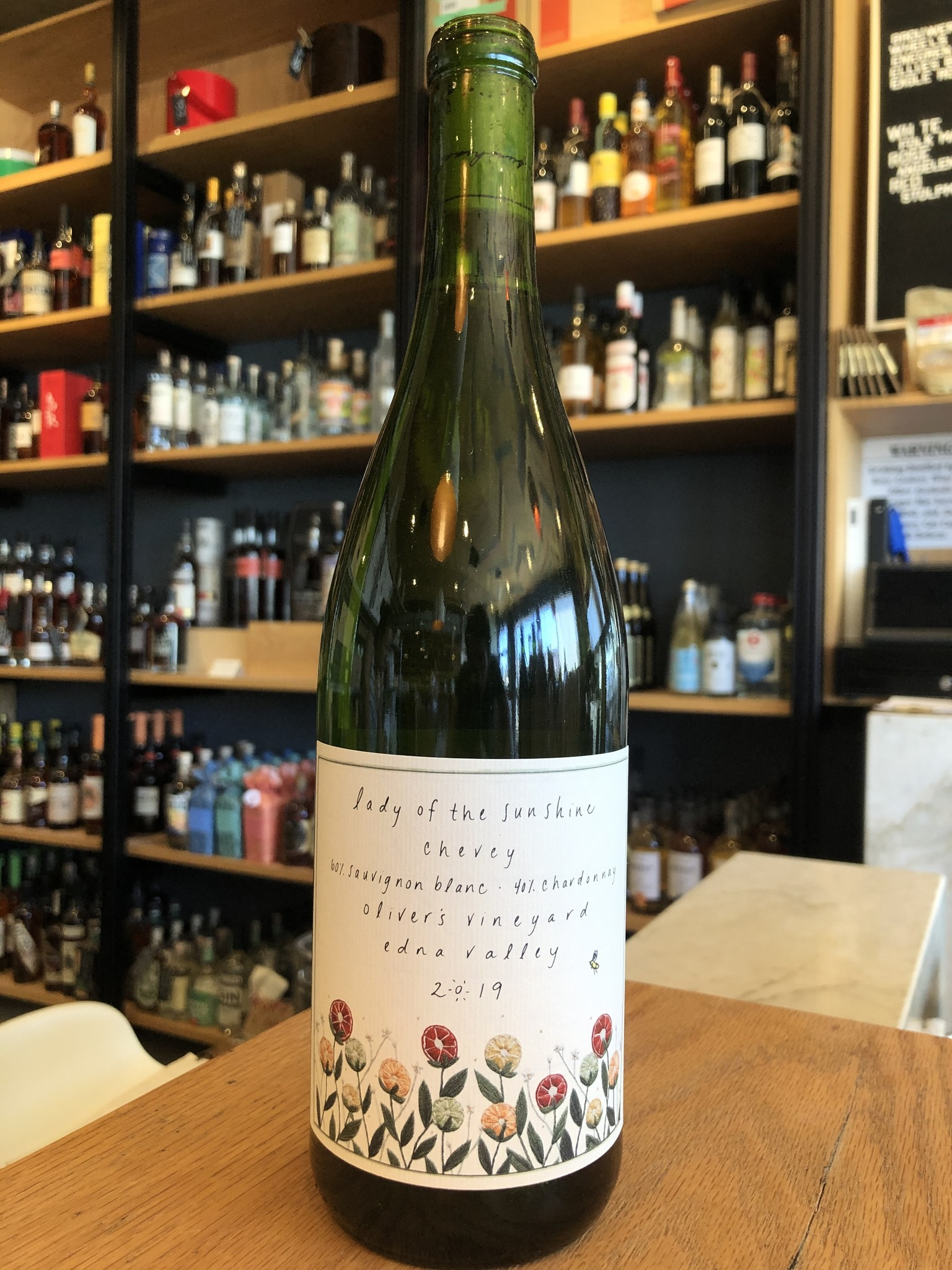 Lady of Sunshine 2019 Lady of the Sunshine 'Chevey' Oliver's Vineyard 750ml