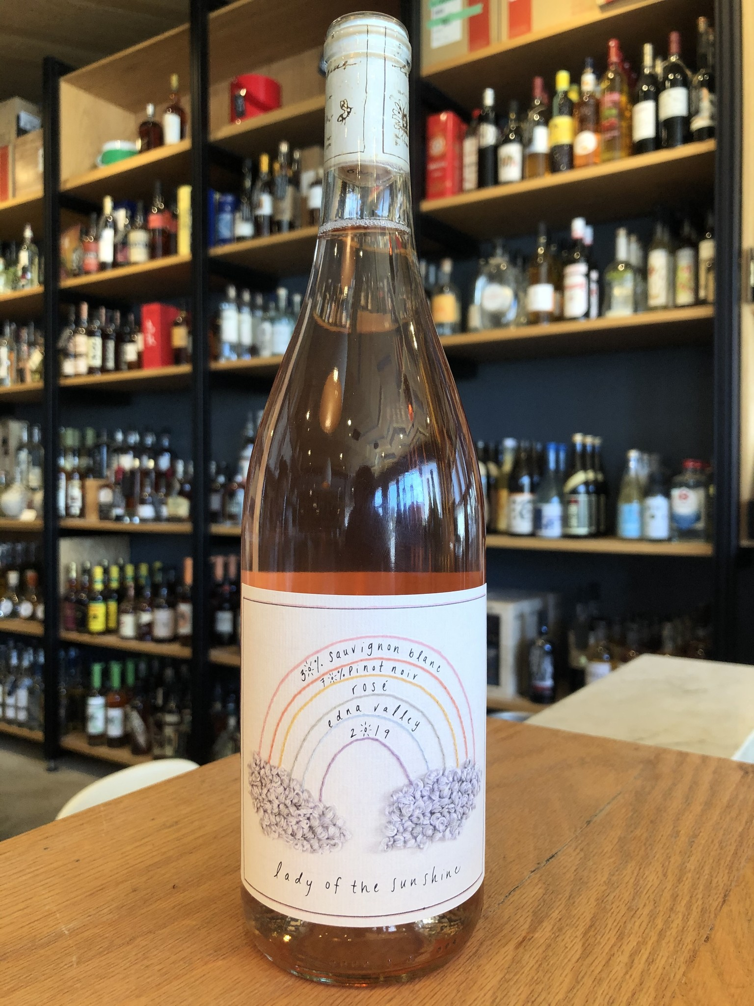 Lady of Sunshine 2019 Lady of the Sunshine Edna Valley Rosé 750ml