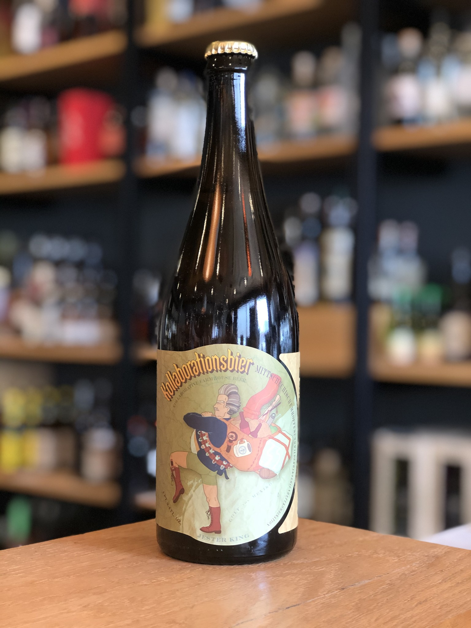 Jester King Brewing Jester King Kollaborationsbier (Live Oak) 750mL