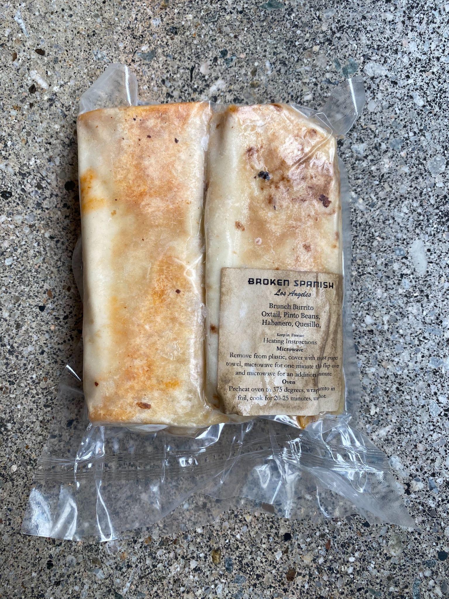 Broken Spanish Broken Spanish Brunch Burritos