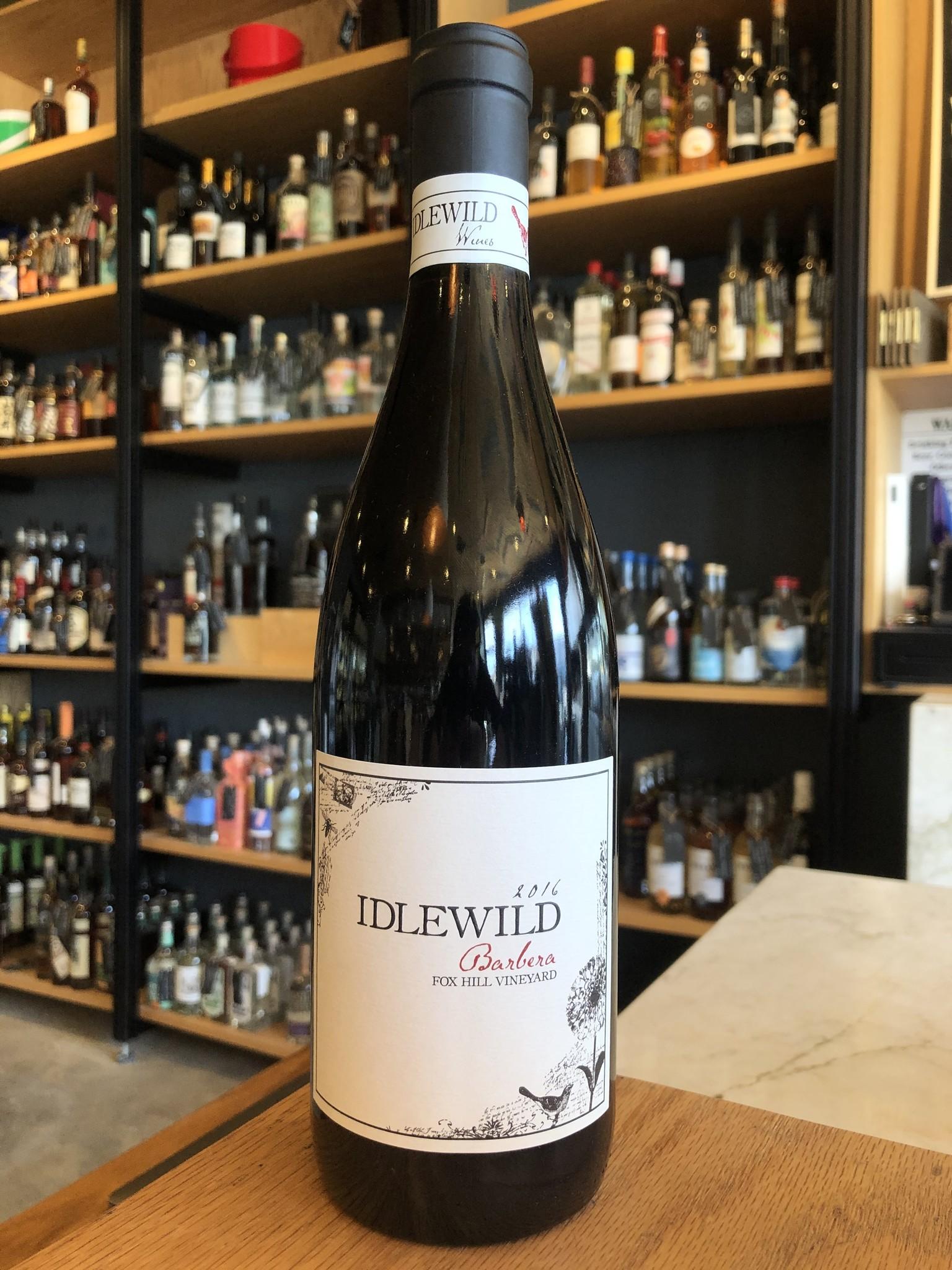 Idlewild 2016 Idlewild Barbera 'Fox Hill Vineyard' 750ml