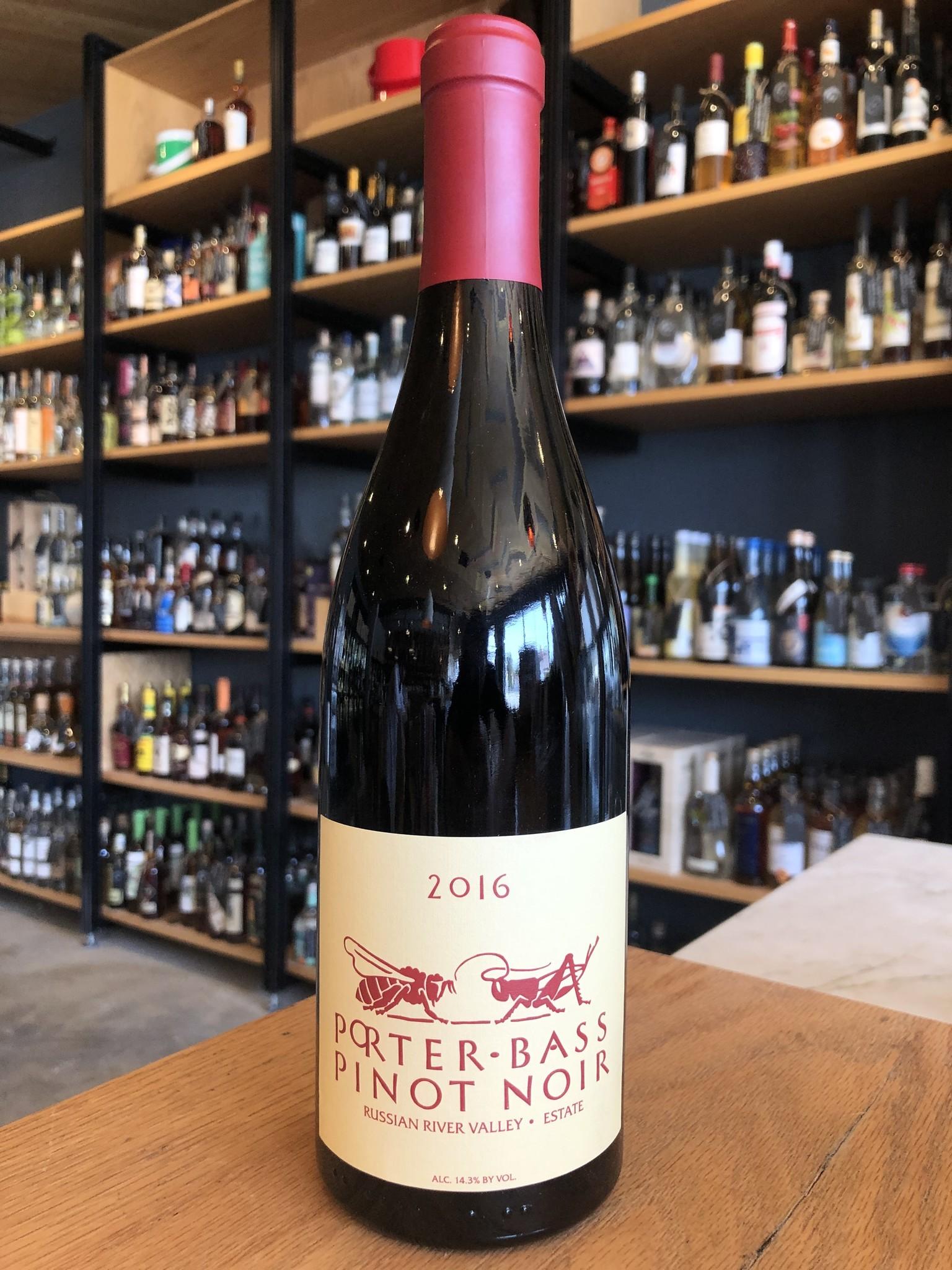 Porter-Bass 2016 Porter-Bass Estate Pinot Noir 750ml