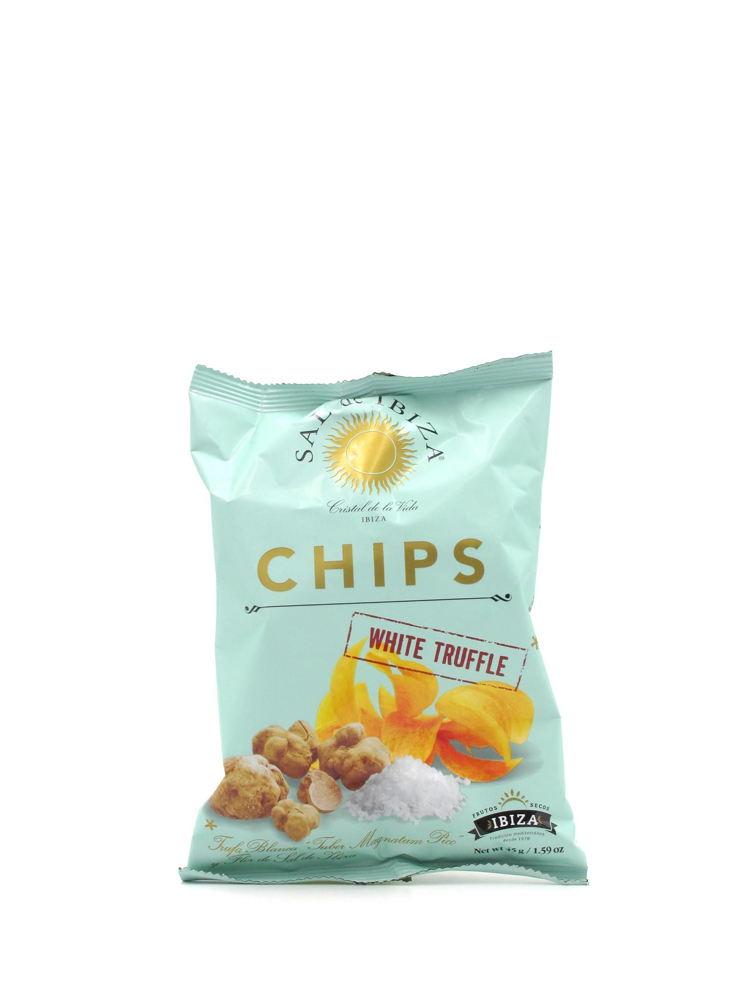 Sal de Ibiza Sal de Ibiza White Truffle Chips 45g