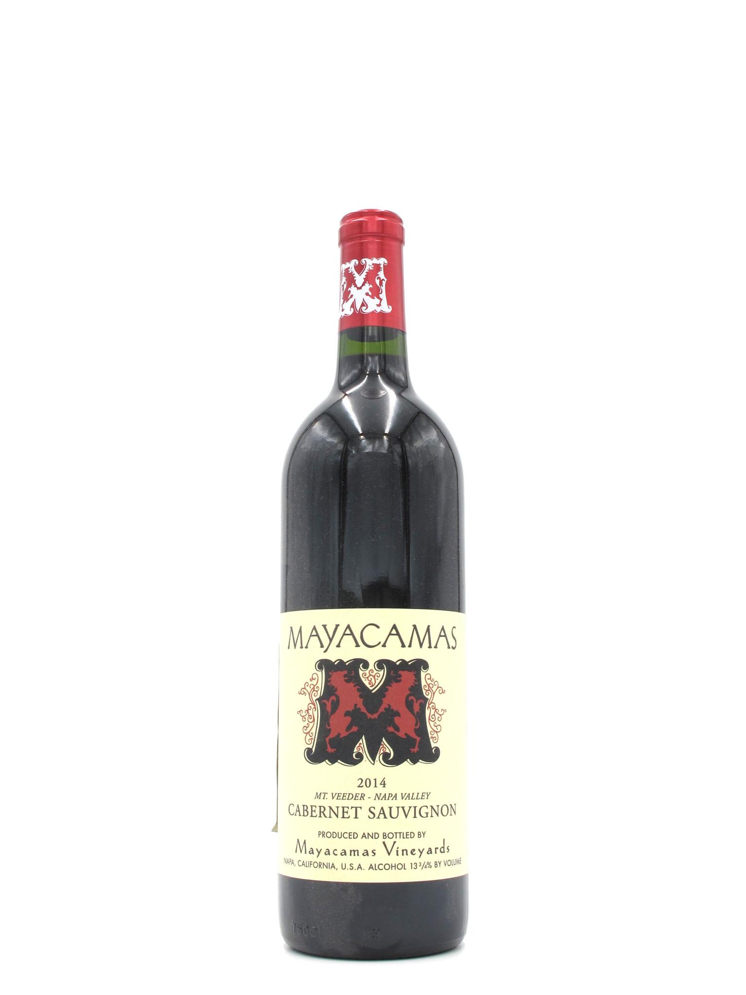 Mayacamas 2014 Mayacamas Vineyards Mt. Veeder Napa Valley Cabernet Sauvignon 750ml