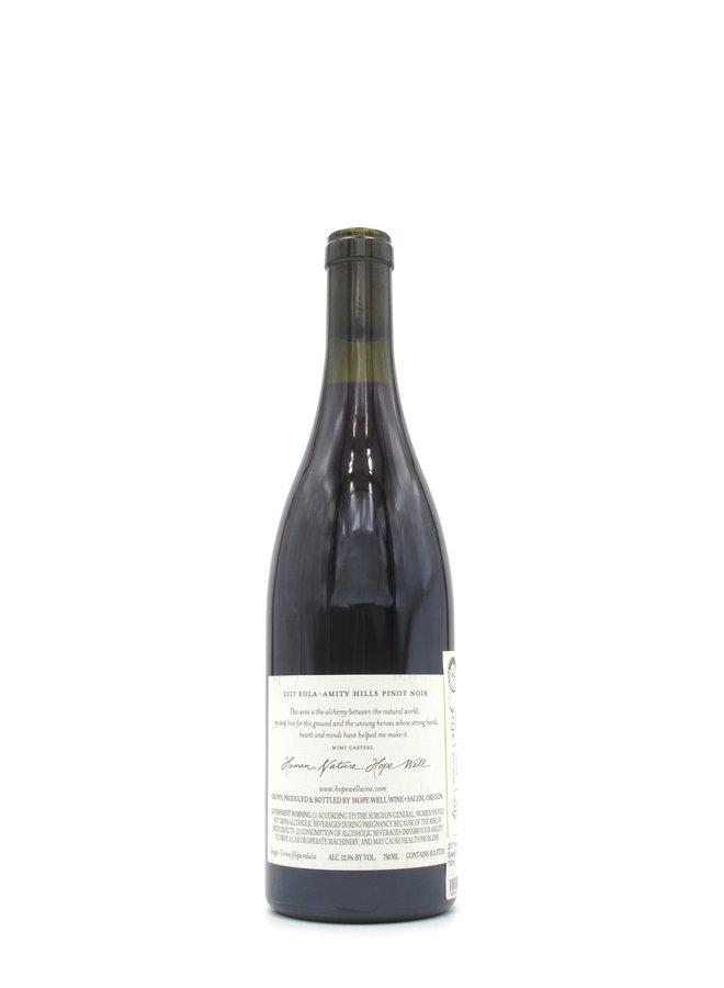 2017 Hope Well Estate Pinot Noir 750ml