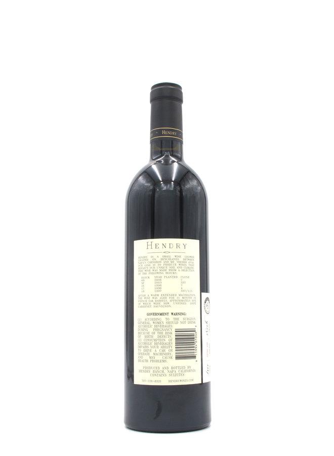 2015 Hendry Cabernet Sauvignon Hendry Vineyard 750mL