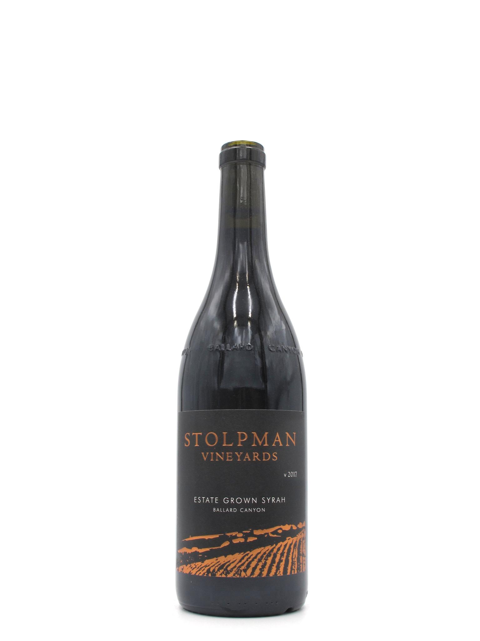 Stolpman Vineyards 2017 Stolpman Vineyards Santa Ynez Valley Syrah Estate Grown 750mL