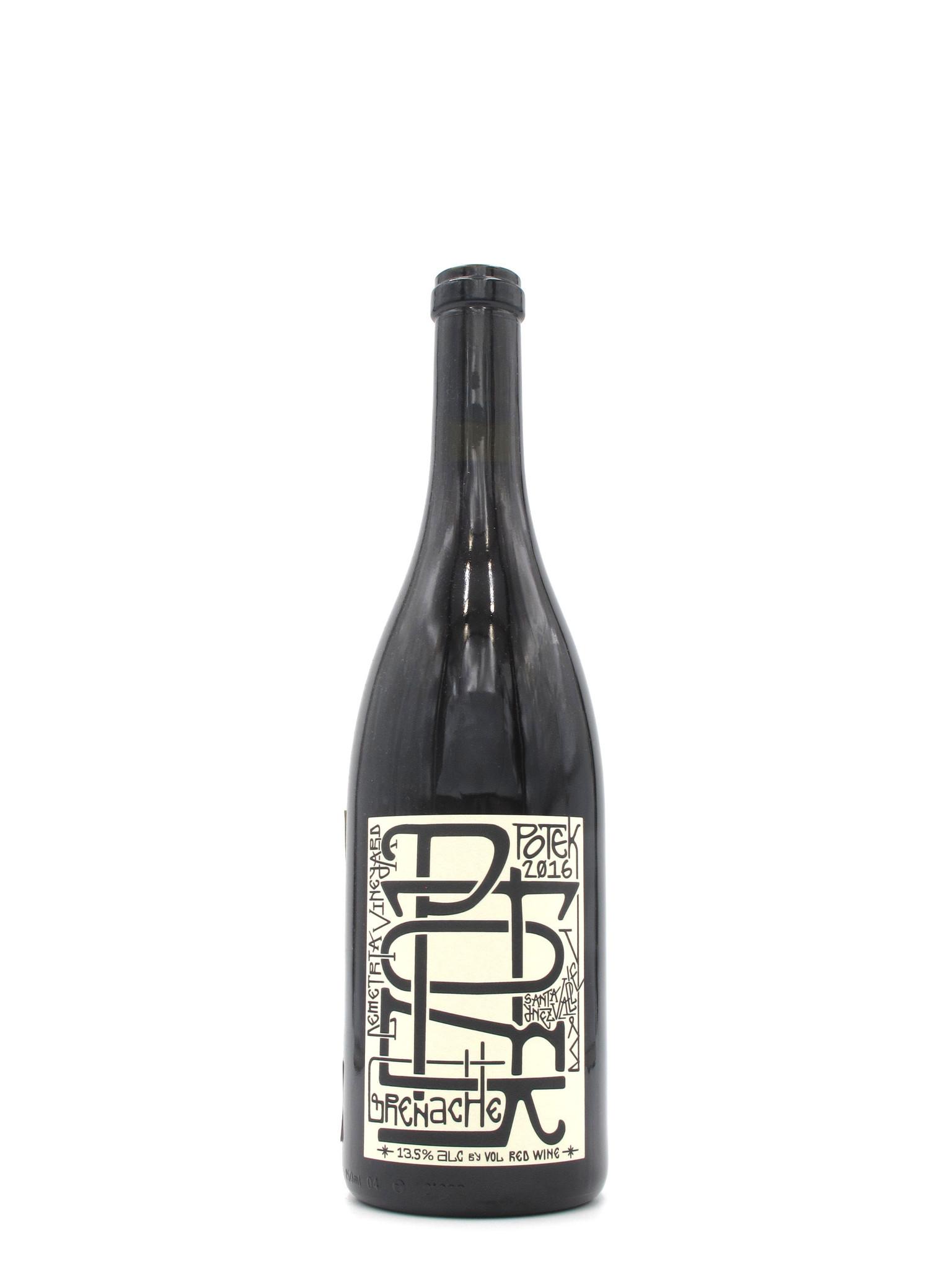 Potek Winery 2016 Potek Demetria Vineyard Grenache 750ml