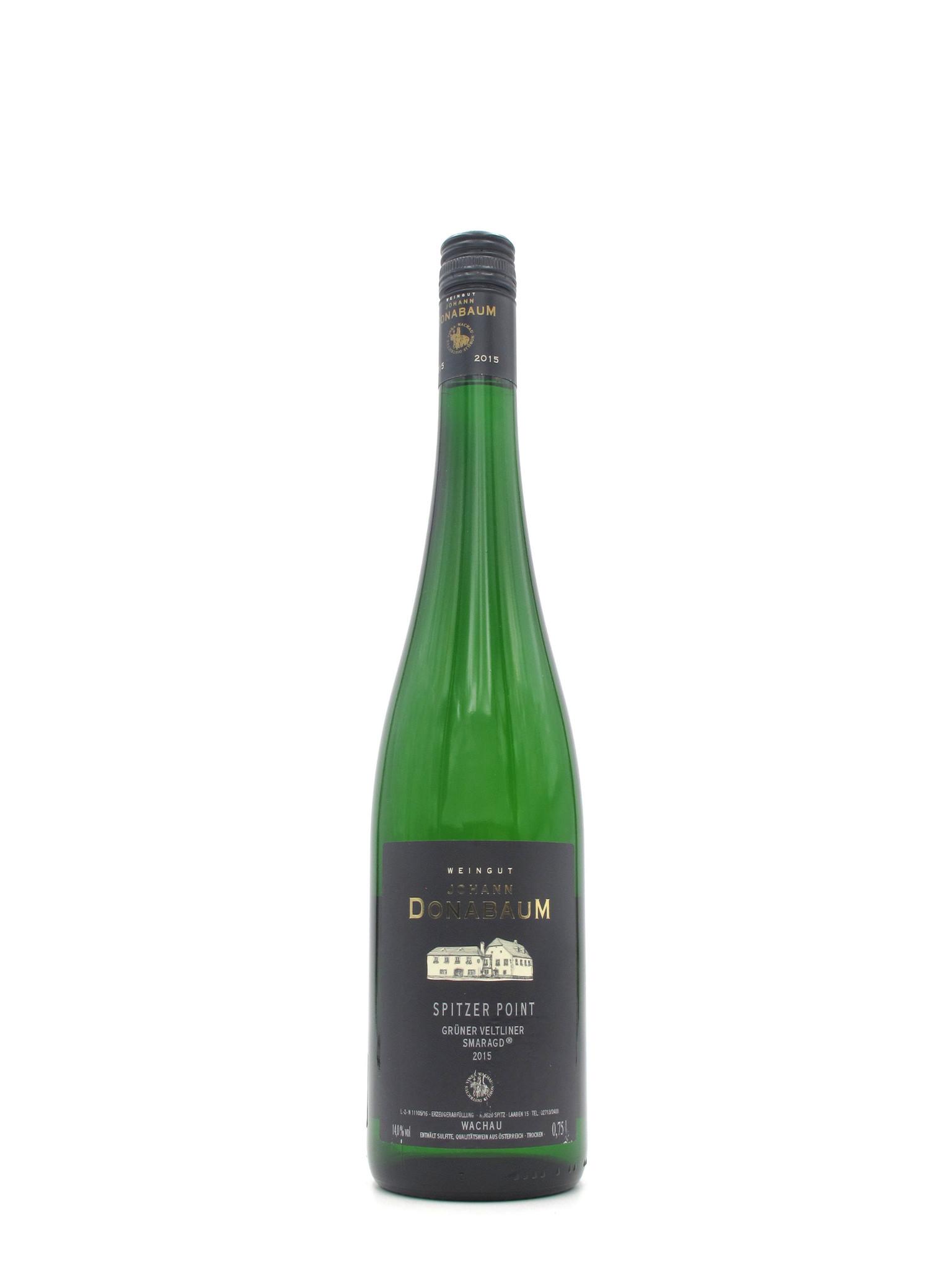 Weingut Johan Donabaum 2015 Johann Donabaum Spitzer Point Grüner Veltliner Smaragd 750mL
