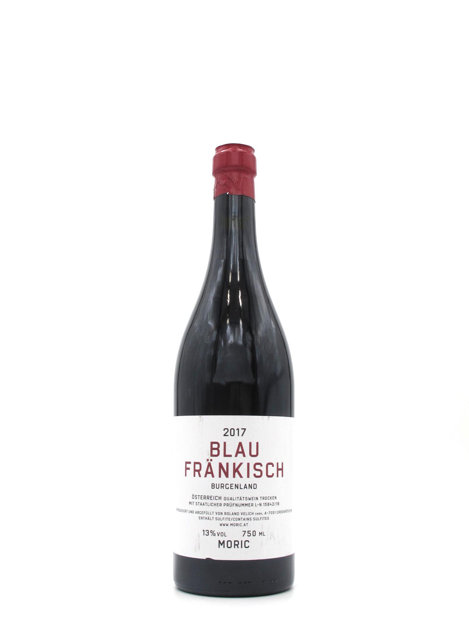 Moric 2017 Moric Blaüfrankisch 750ml