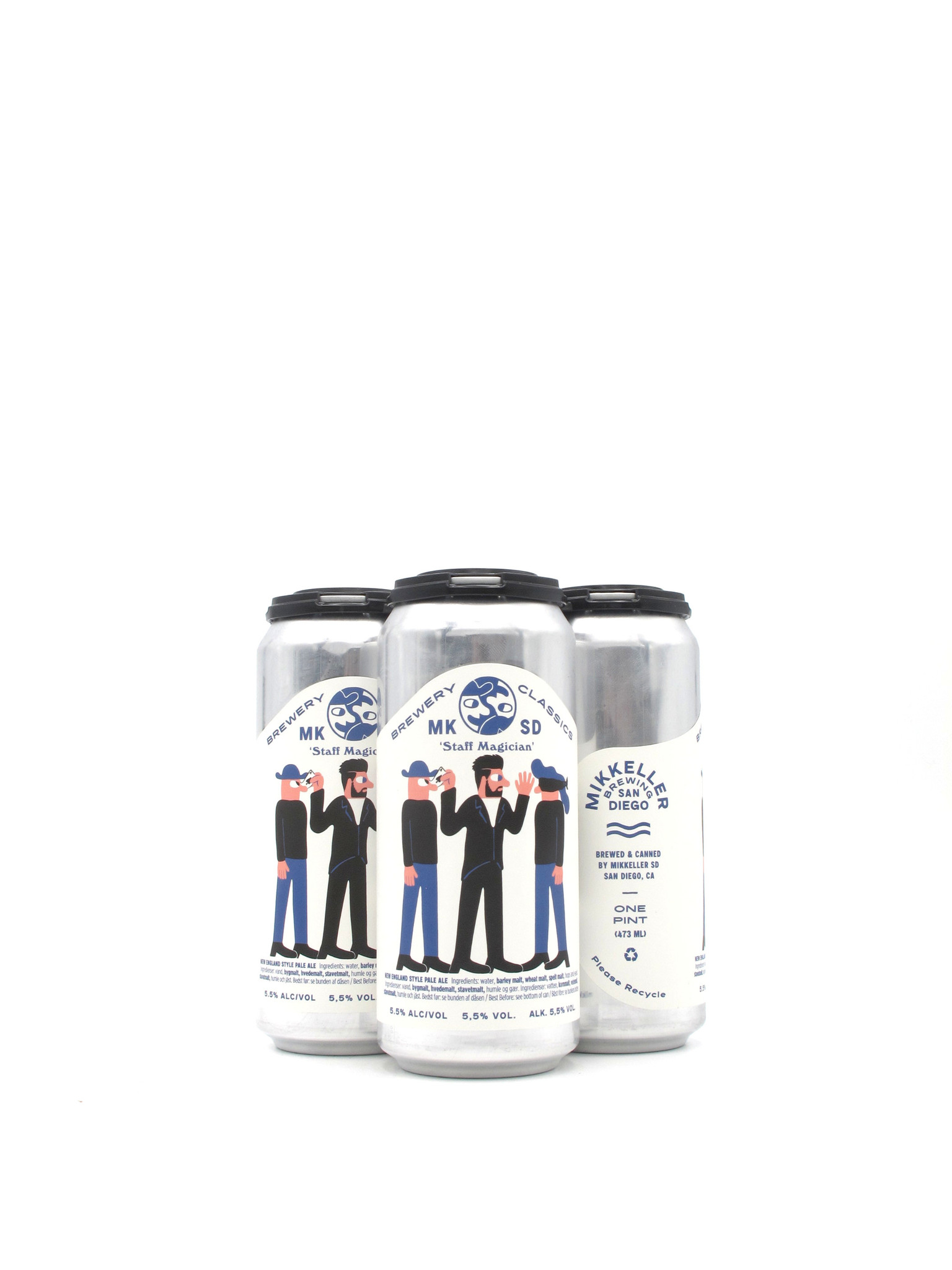Mikkeller Brewing Mikkeller Staff Magician Pale Ale 16oz 4pk