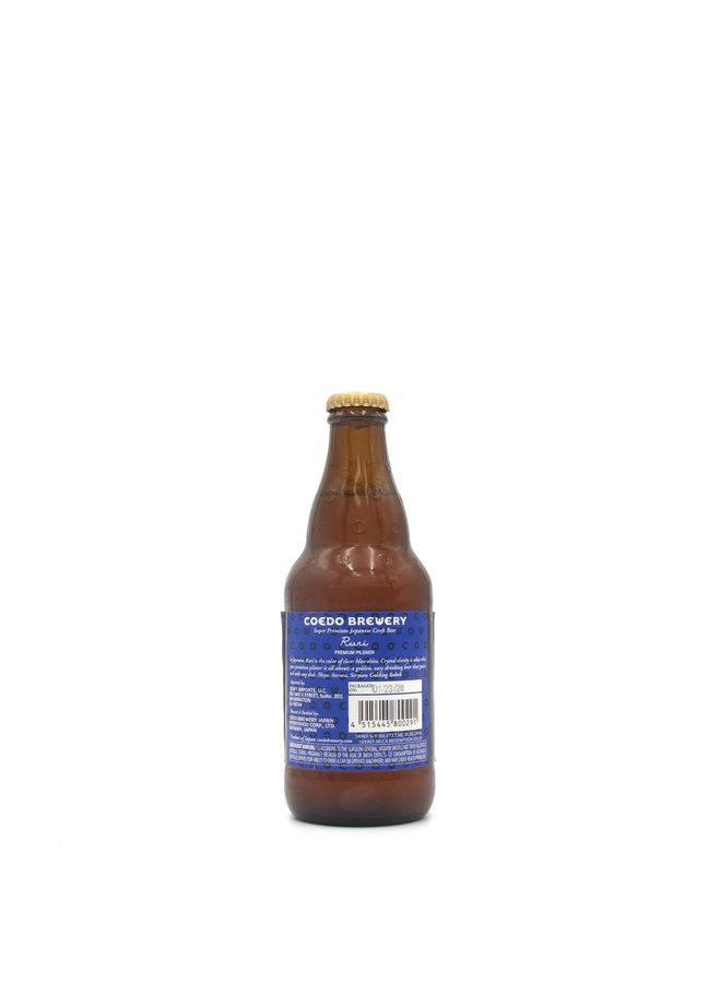Coedo Brewery Ruri Premium Pilsner 330ml