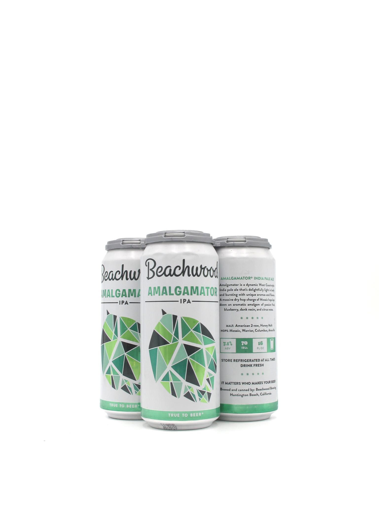 Beachwood Blendery Beachwood Brewing Amalgamator 16oz 4pk
