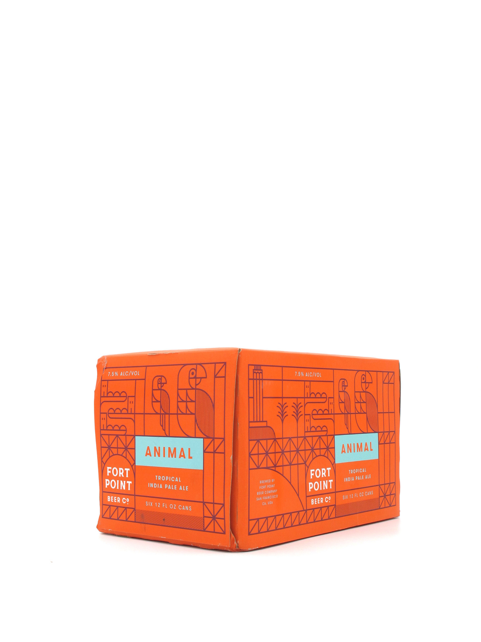 Fort Point Beer Company Fort Point Beer Co. Animal 12oz 6pk