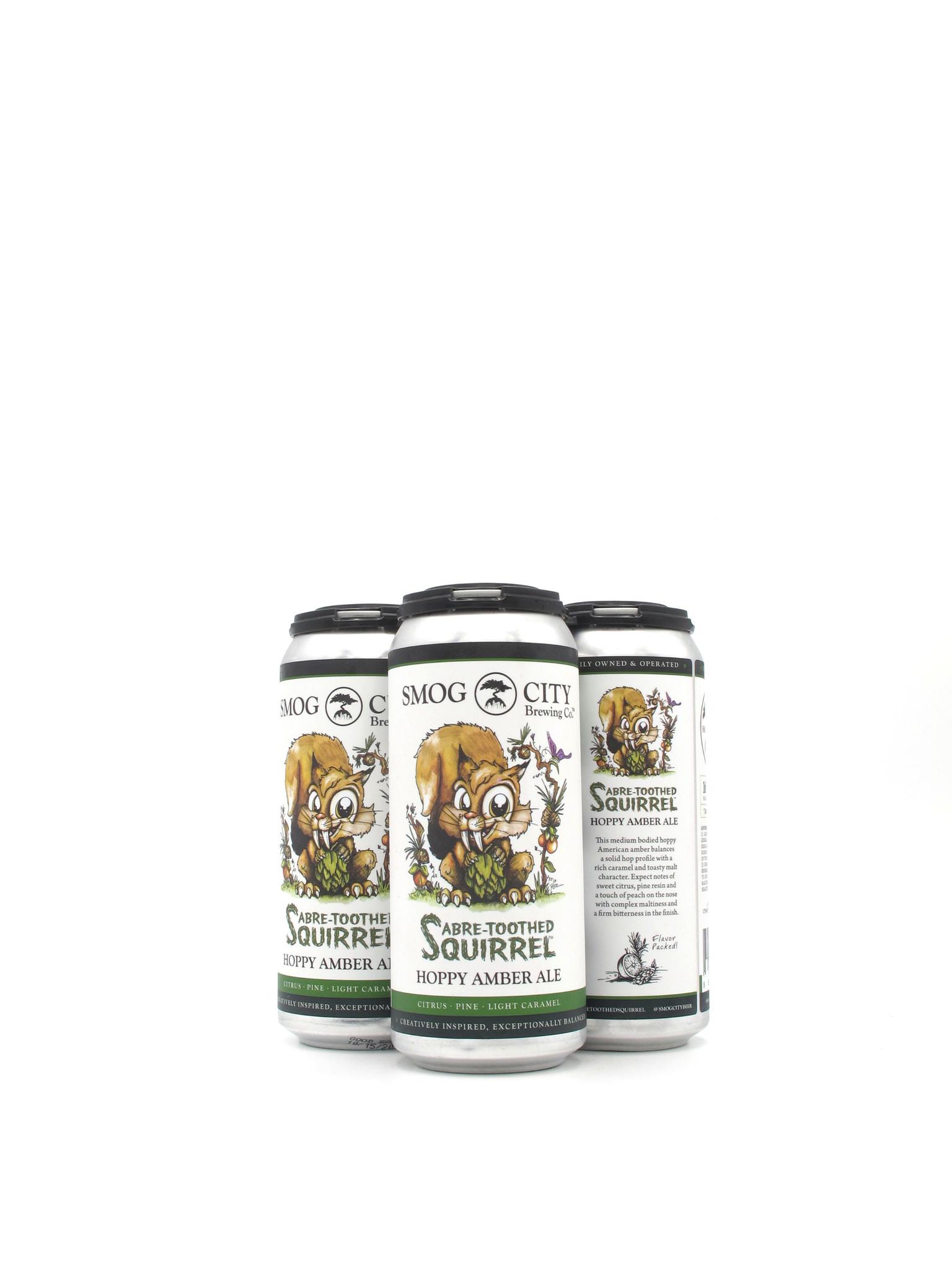 Smog City Brewing Co. Smog City Brewing Co. Sabre-Toothed Squirrel 16oz 4pk
