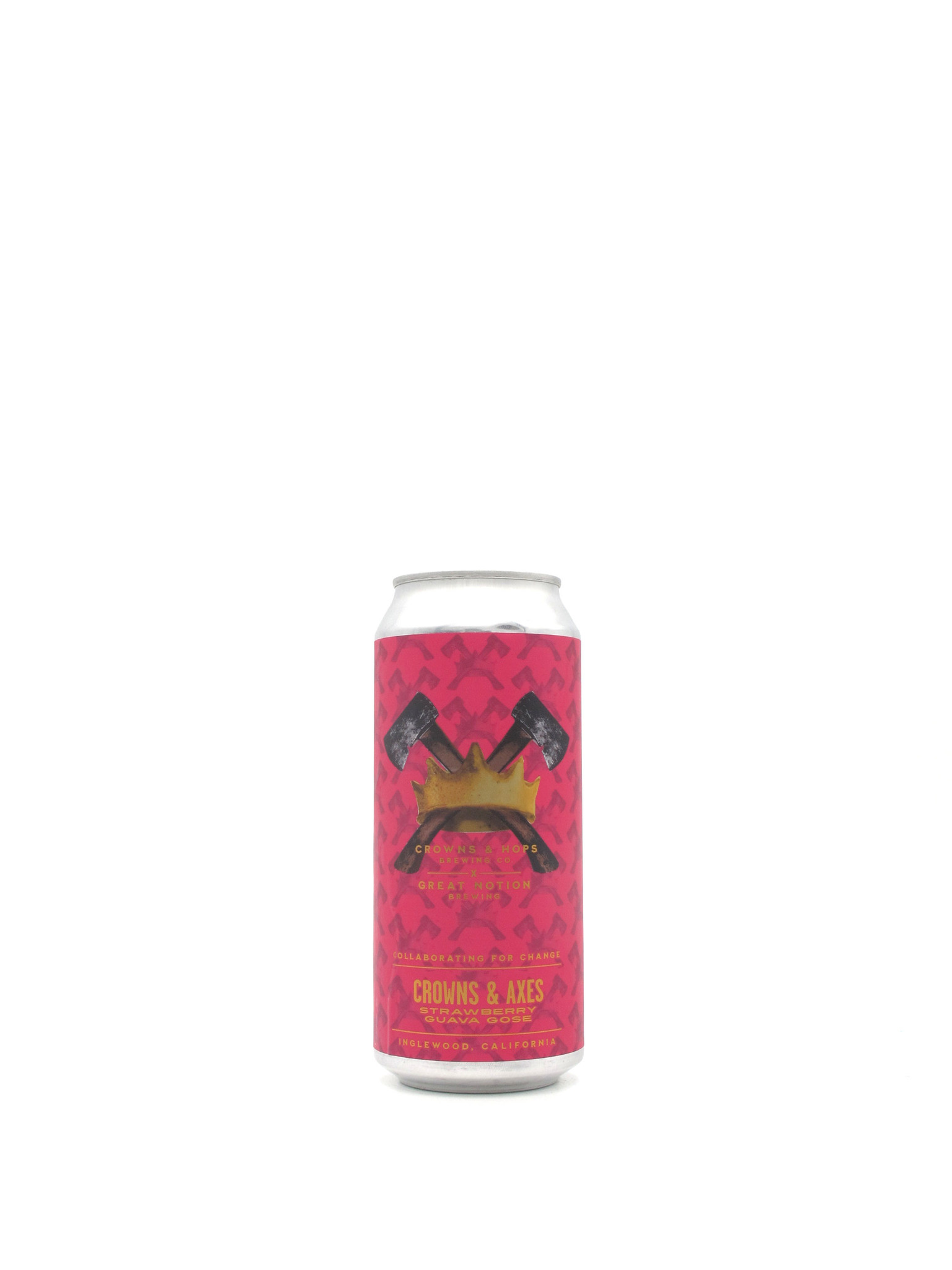 """Crowns & Hops Crowns & Hops / Great Notion  Brewing Co. Crowns & Axes"""" 16oz"""