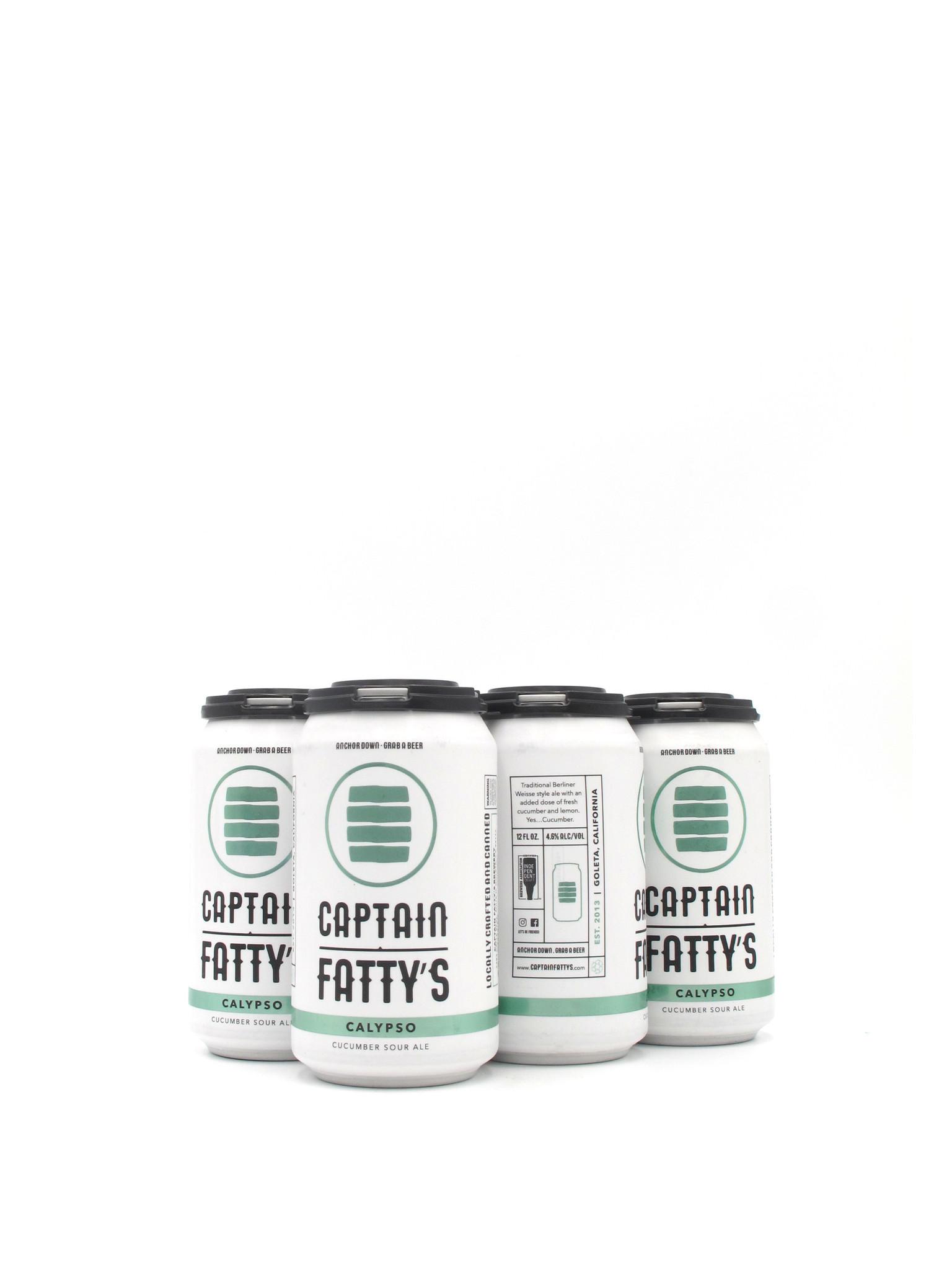 Captain Fatty's Craft Brewery Calypso Sour 12oz 6pk