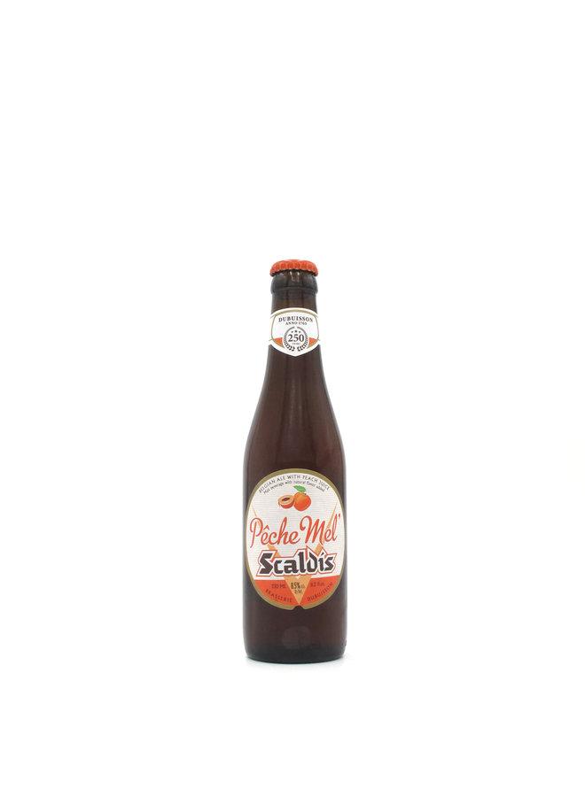 Dubuisson Scaldis Pêche Mel 330mL