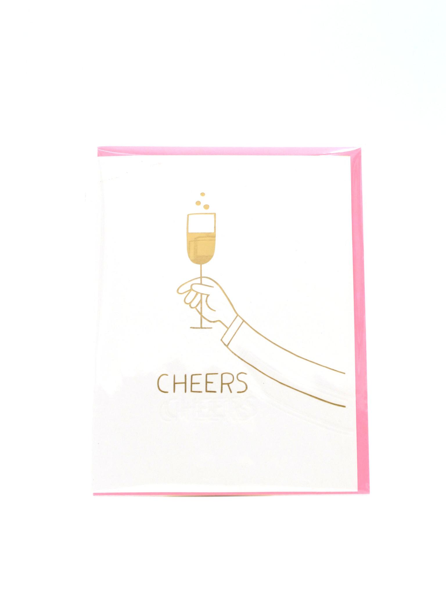 Egg Press Cheers-NR Ashkahn Greeting Card