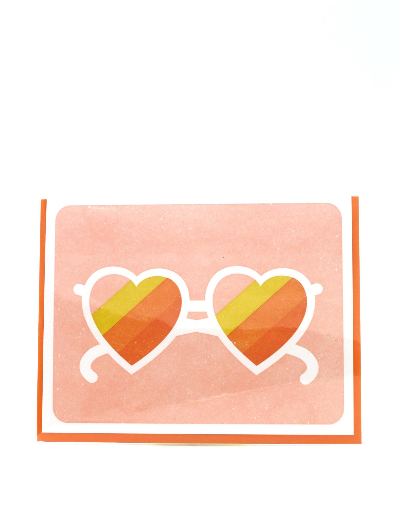 Elum Positive Shades Elum Greeting Card
