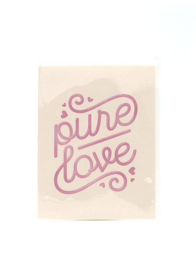 Pure Love Elum Greeting Card